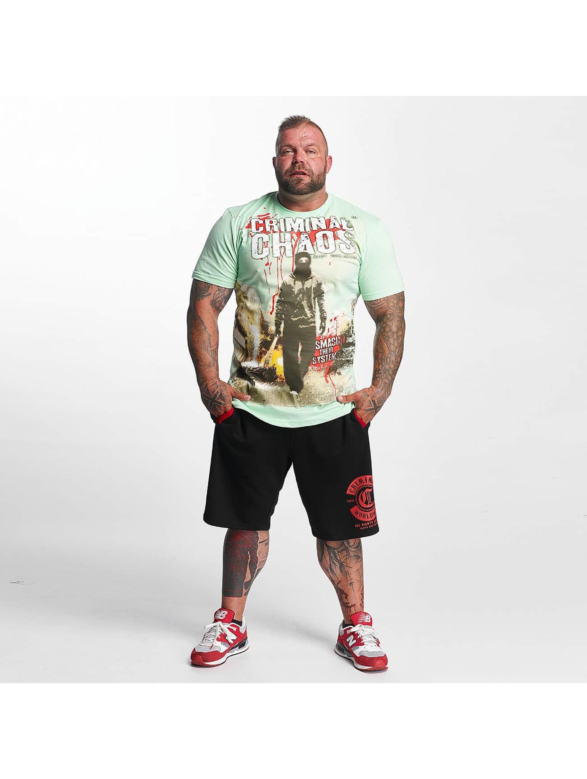 Mafia & Crime T-Shirt Criminal Chaos green