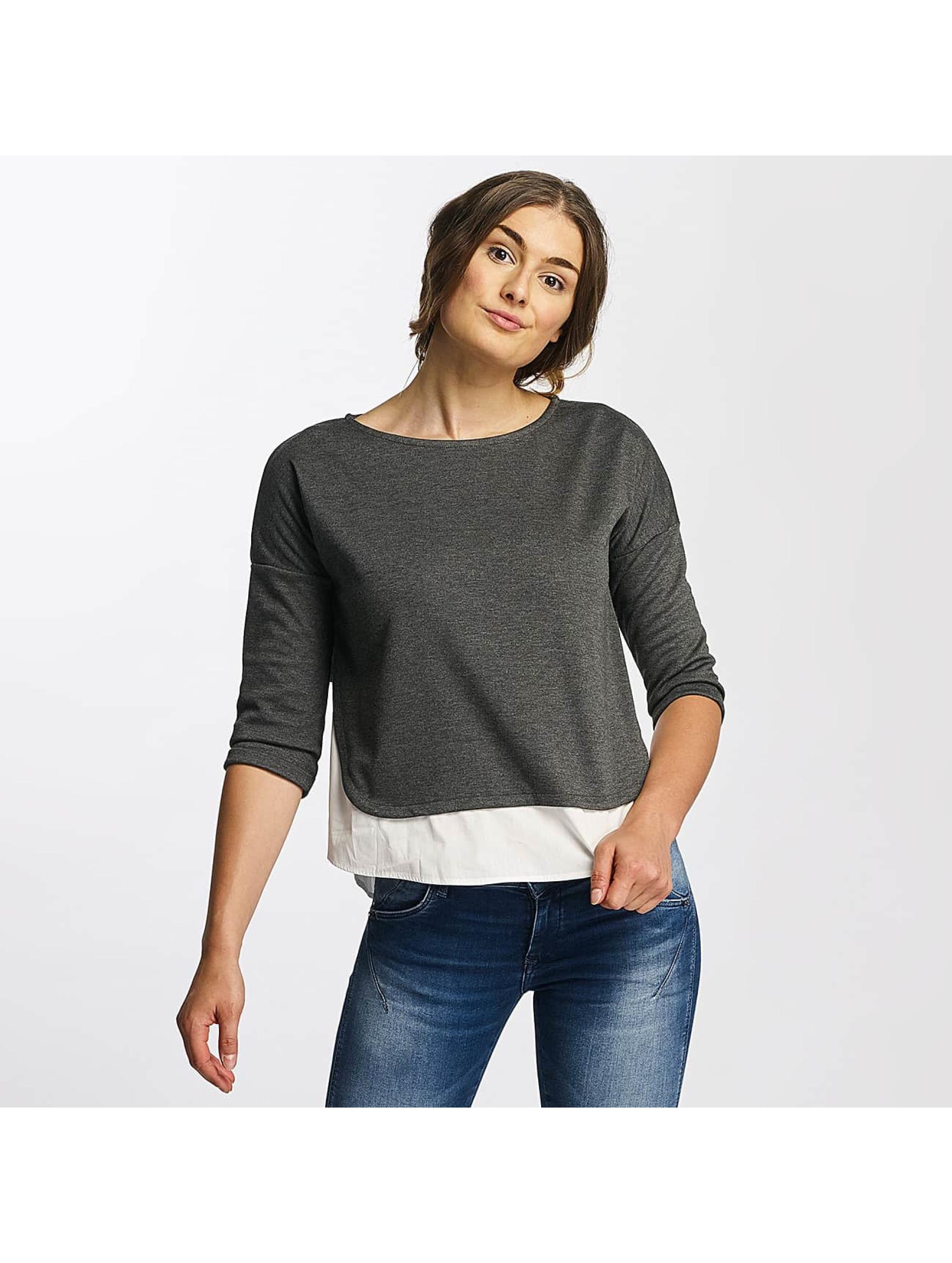 Mavi Jeans Pullover Boat Neck gray