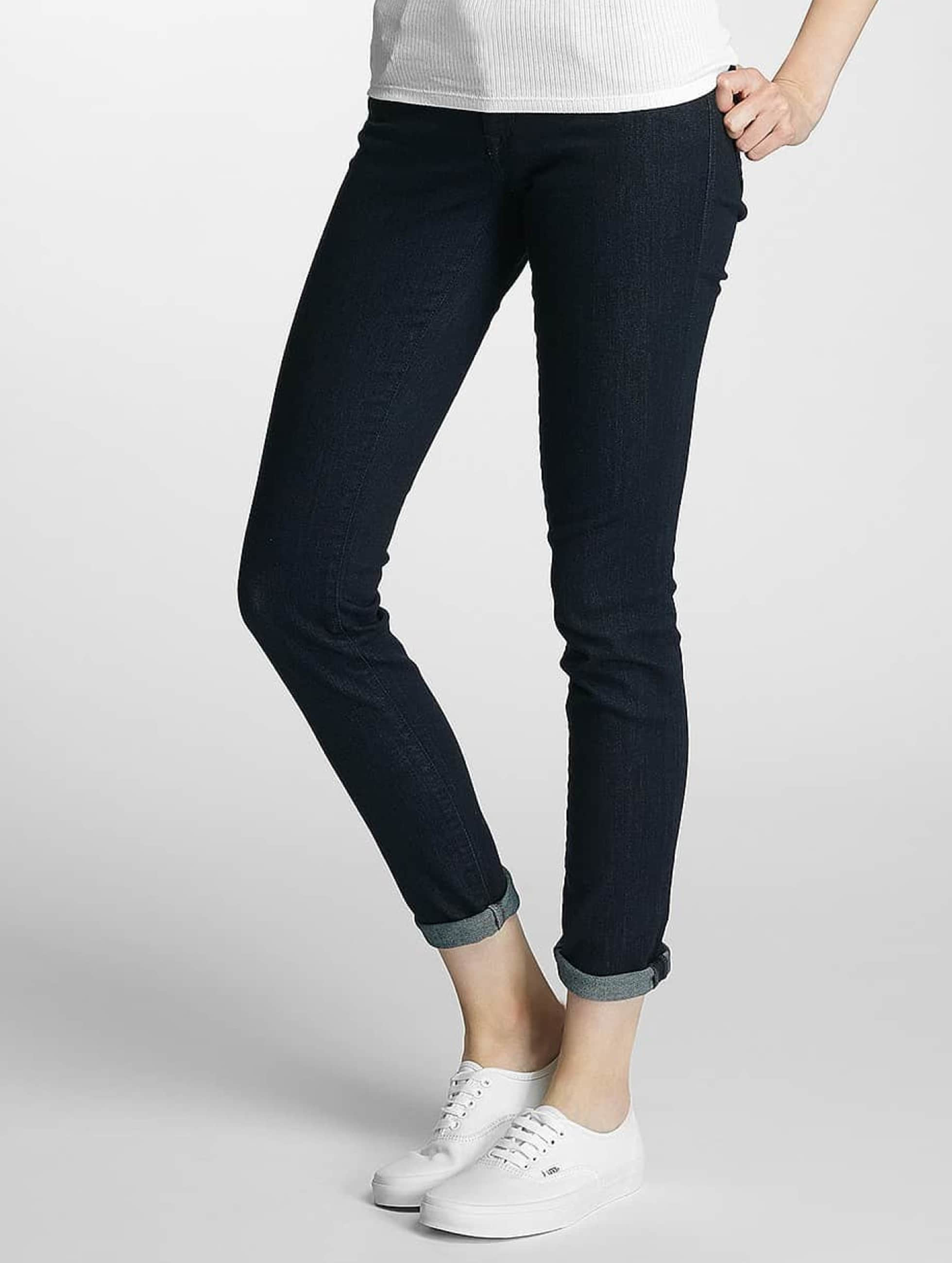 mavi jeans jeans skinny jeans lindy in blauw 355251. Black Bedroom Furniture Sets. Home Design Ideas