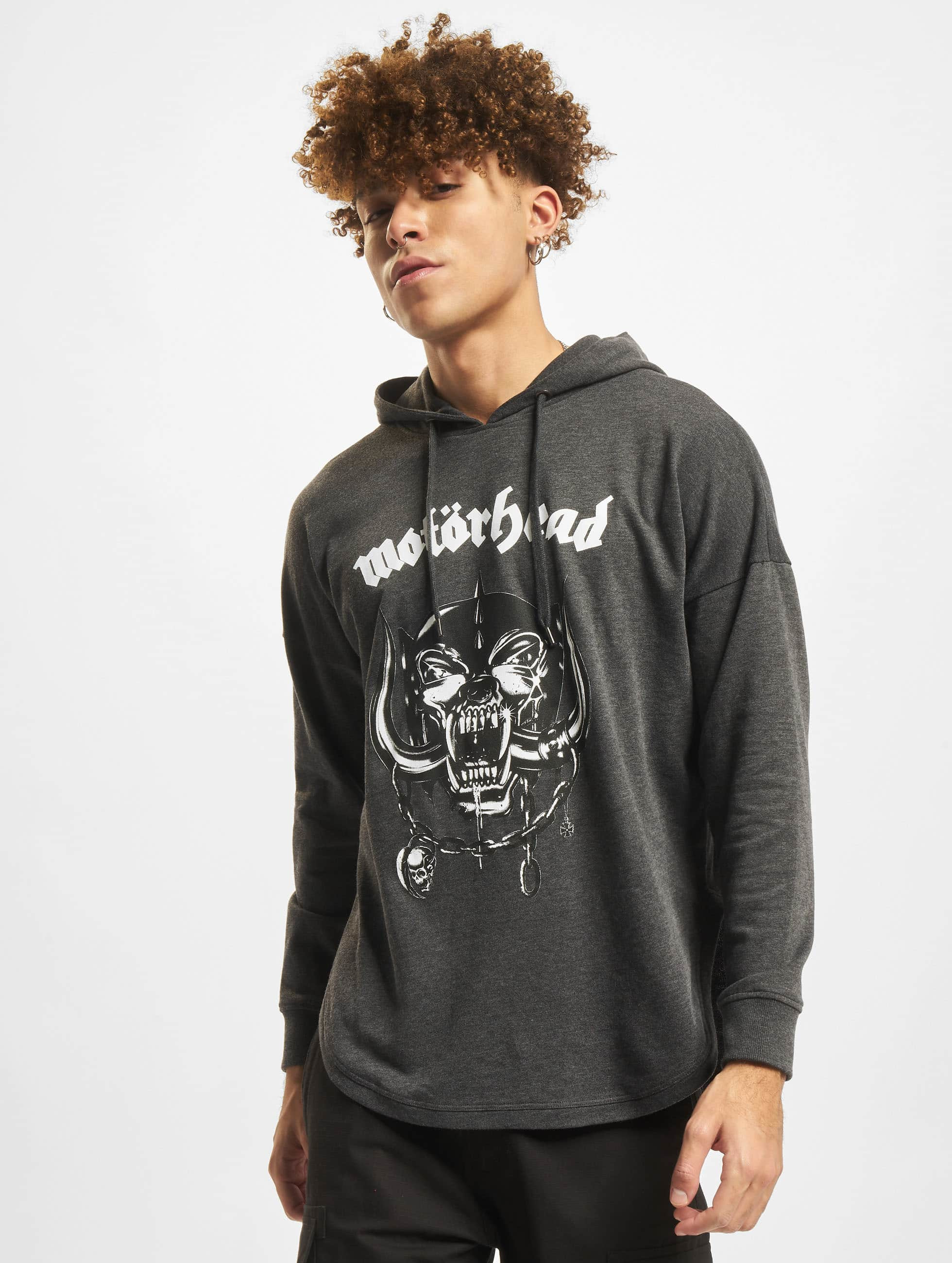Merchcode Hoodie Motörhead Everything Louder gray