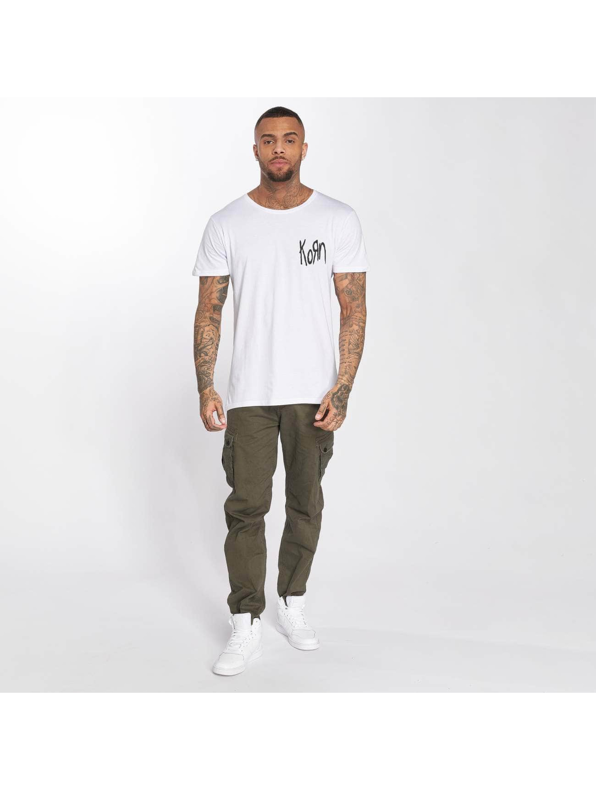 Merchcode T-Shirt Korn Suffering white