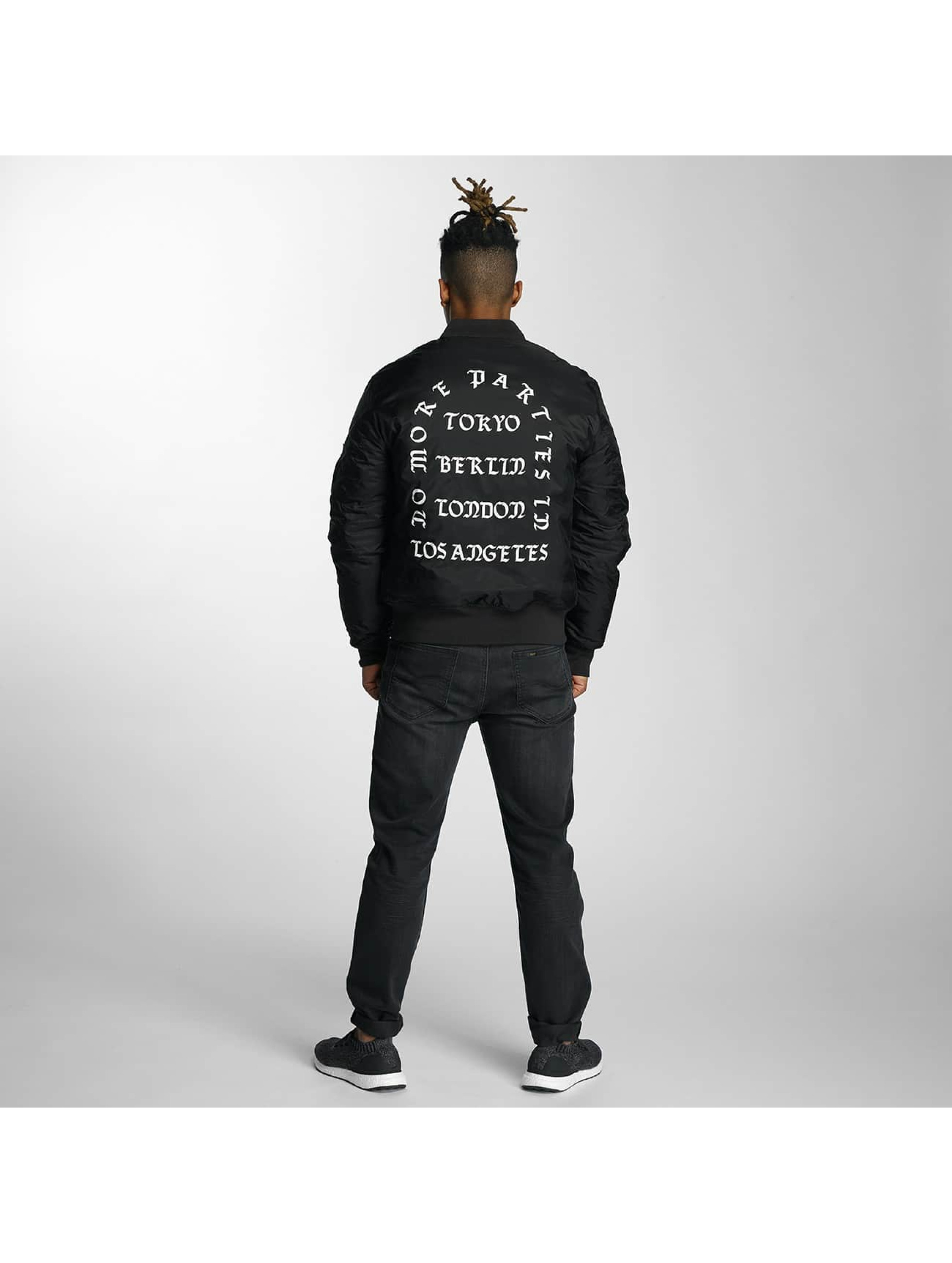 Mister Tee Bomber jacket LA Bomber black