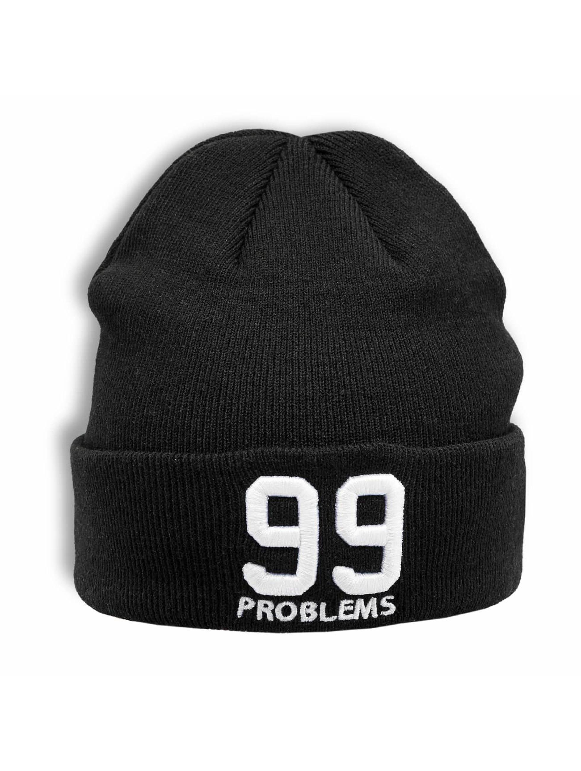 1b86e61dd5 Mister Tee | 99 Problems noir Bonnet 345866