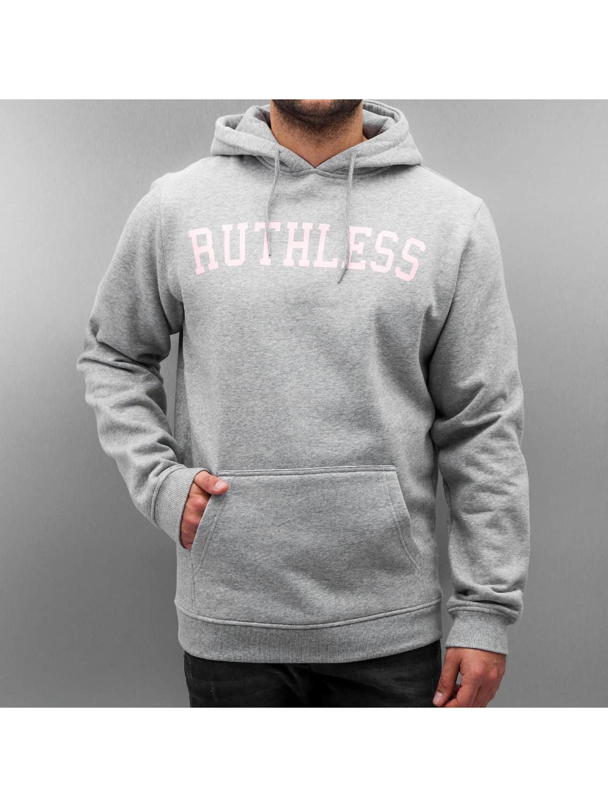 Mister Tee Hoodie Ruthless gray