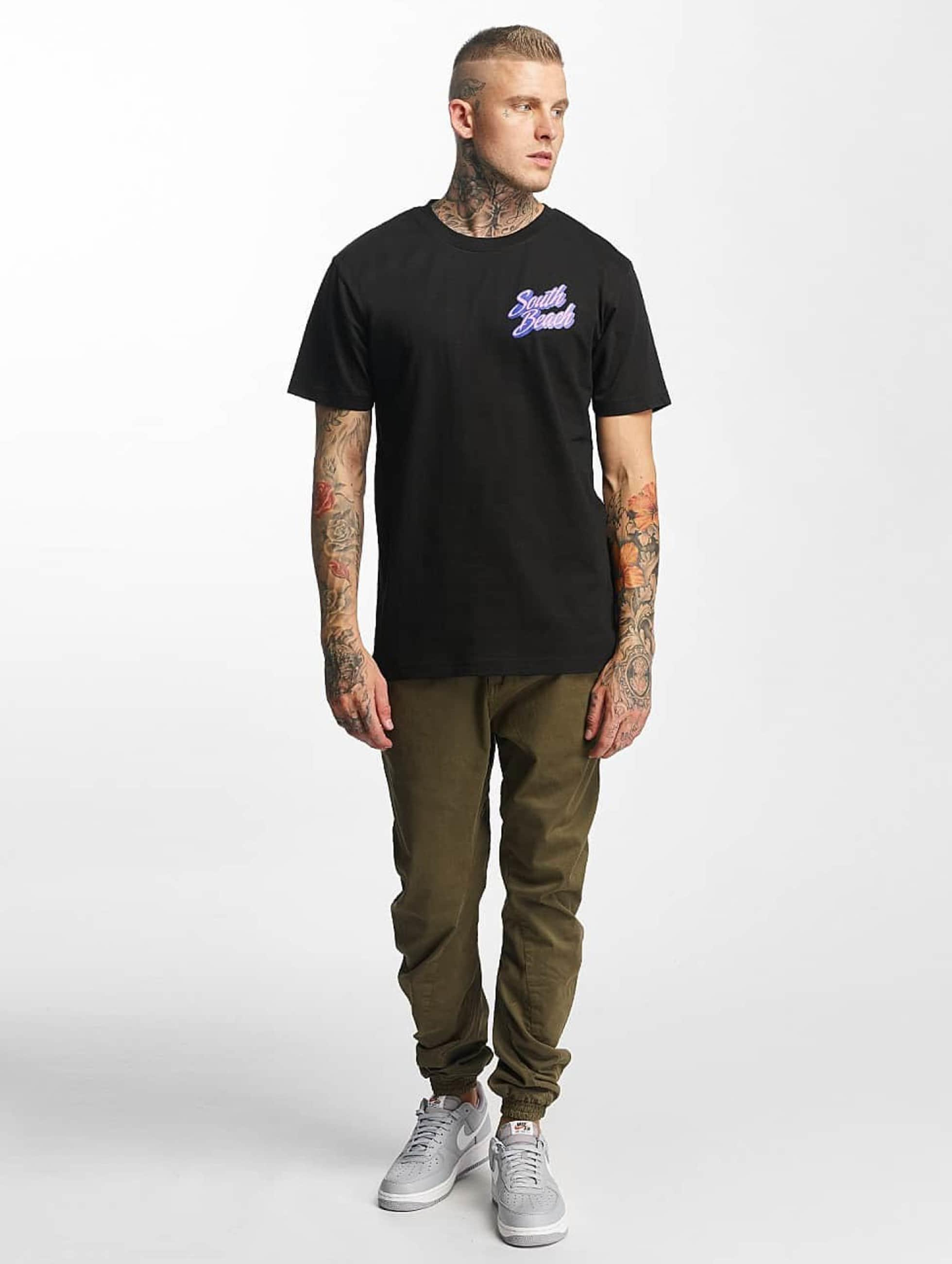 Mister Tee T-Shirt South Beach black