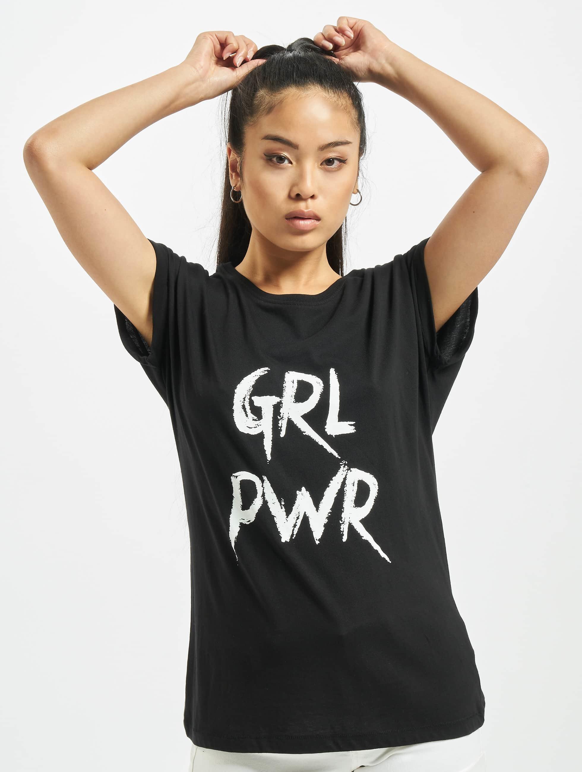 Mister Tee T-Shirt GRL PWR black