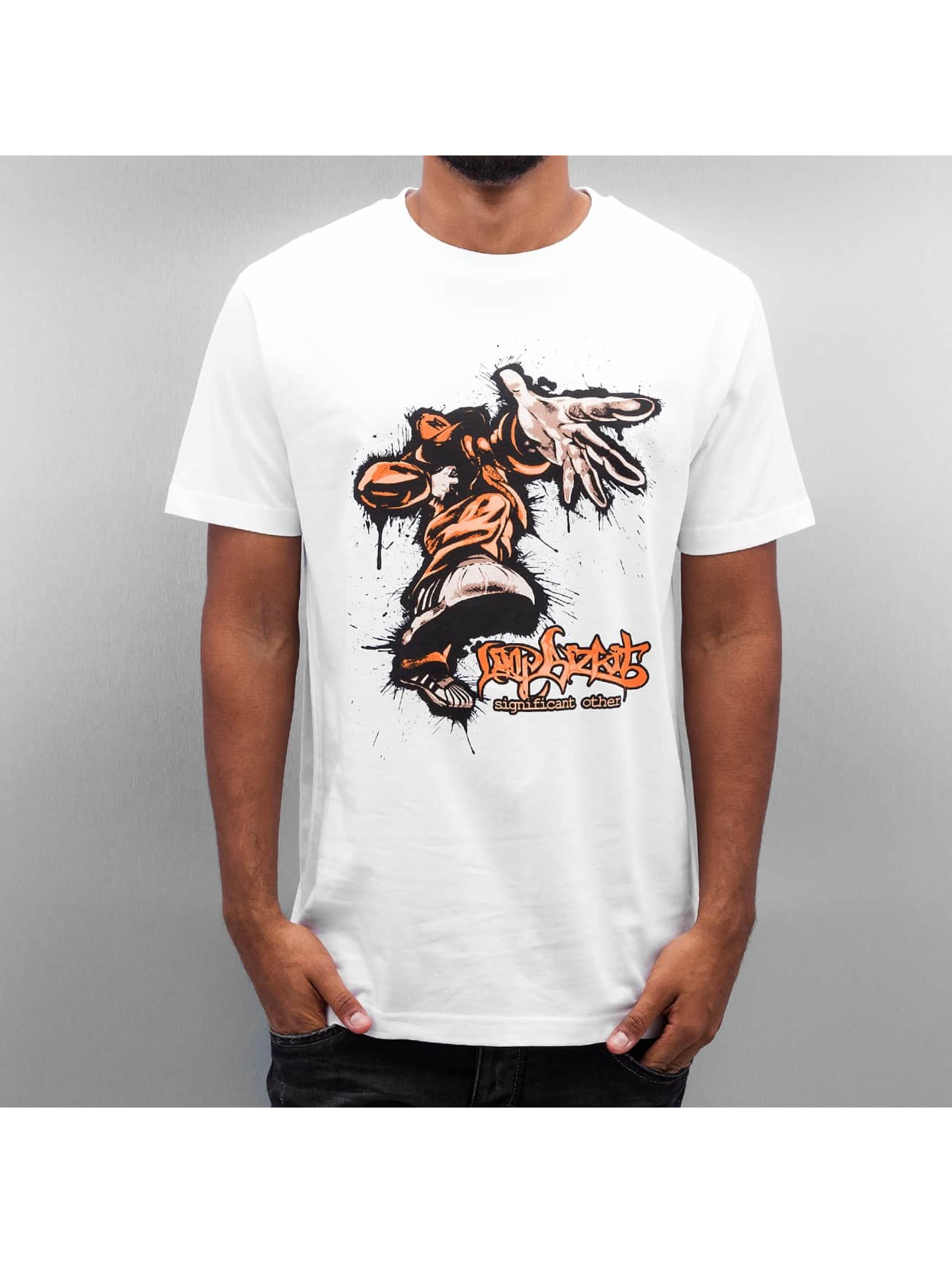 Mister Tee T-Shirt Limp Bizkit Significant Other white