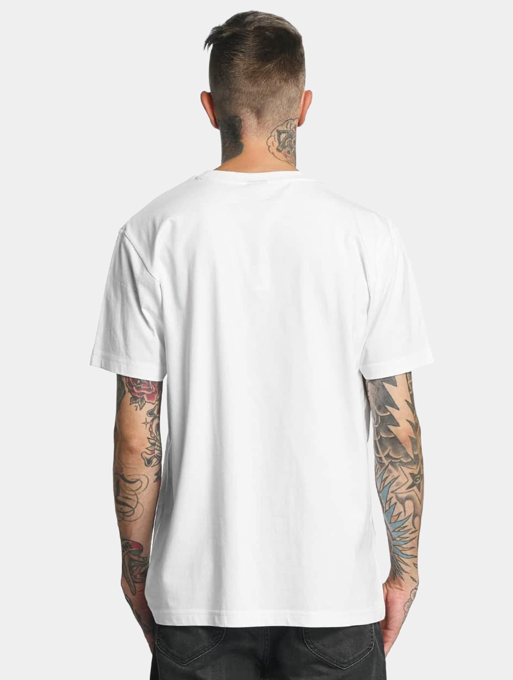 Mister Tee T-Shirt LA Sketch white