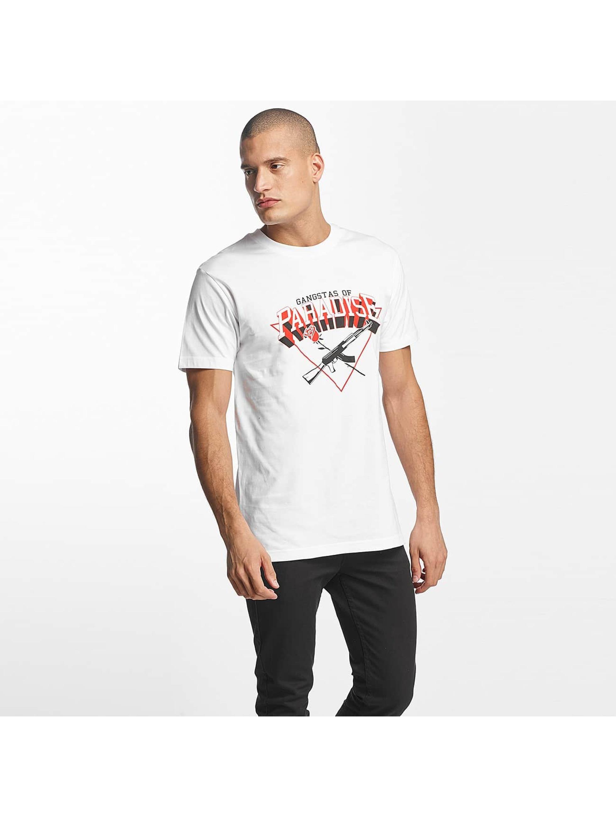 Mister Tee T-Shirt Gangstas of Paradise white