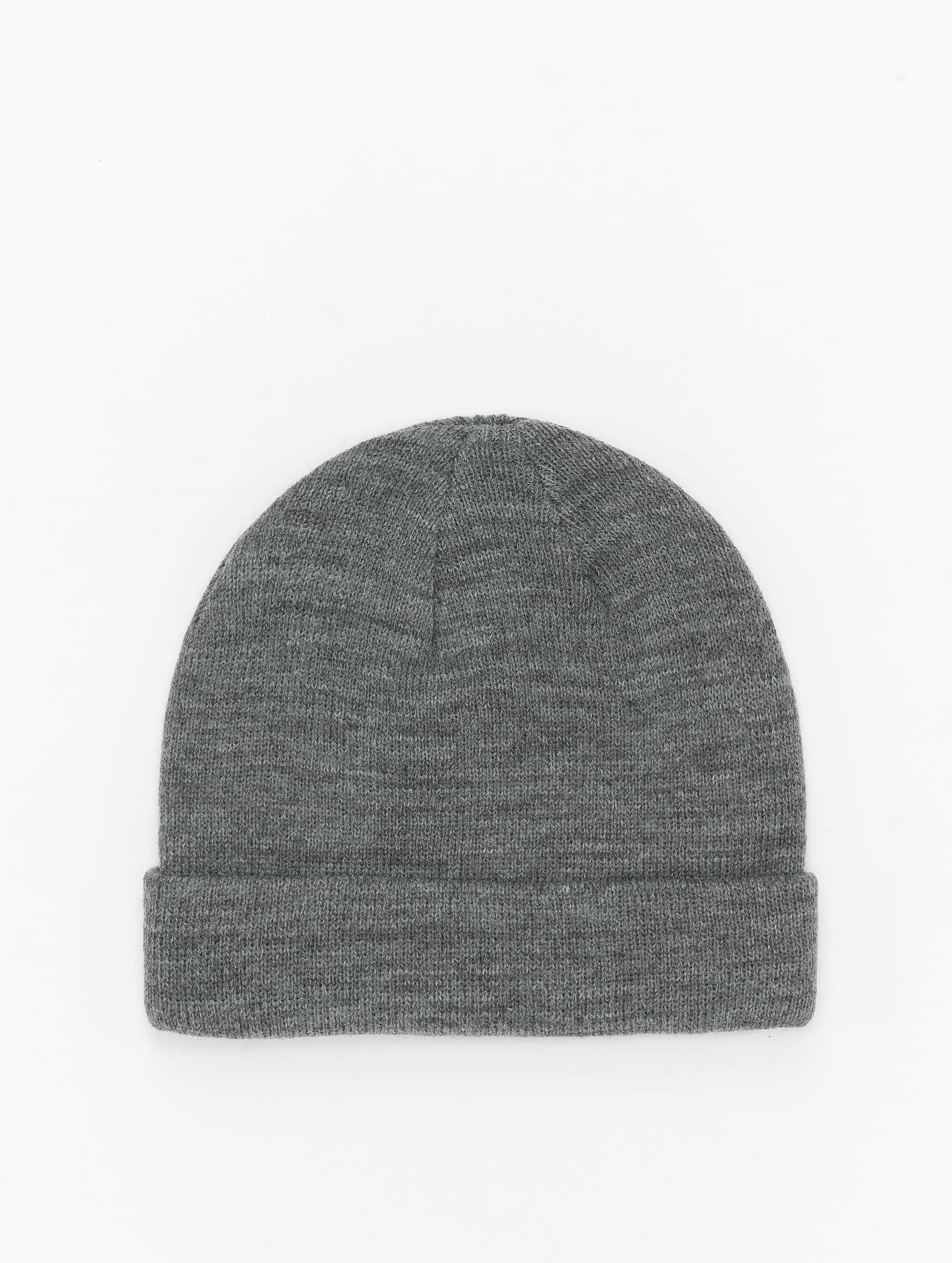 652b022ab08 MSTRDS Accessoar   Beanie Short Cuff Knit i grå 238174