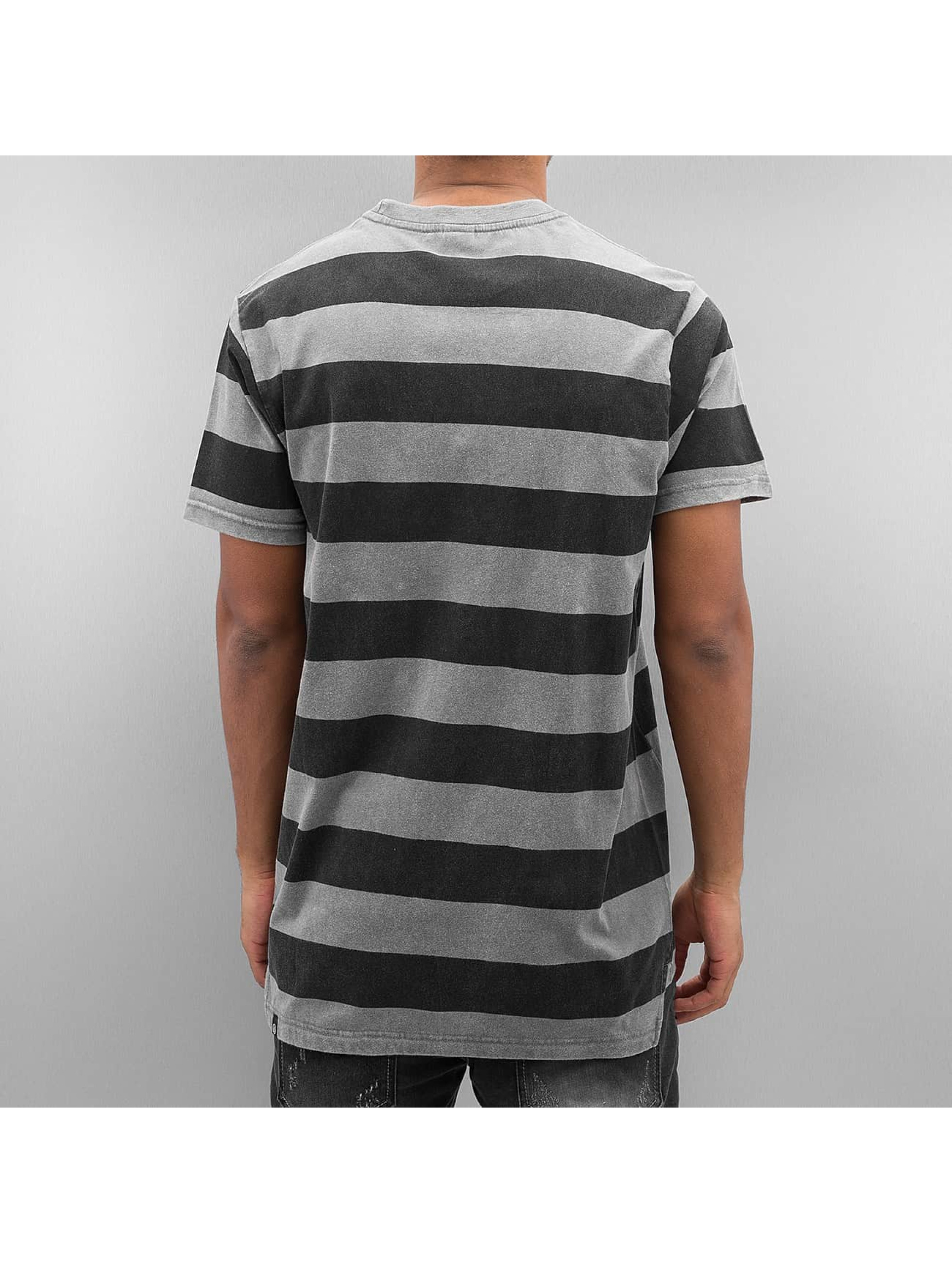 NEFF T-Shirt Christoph Washed Stripe gray
