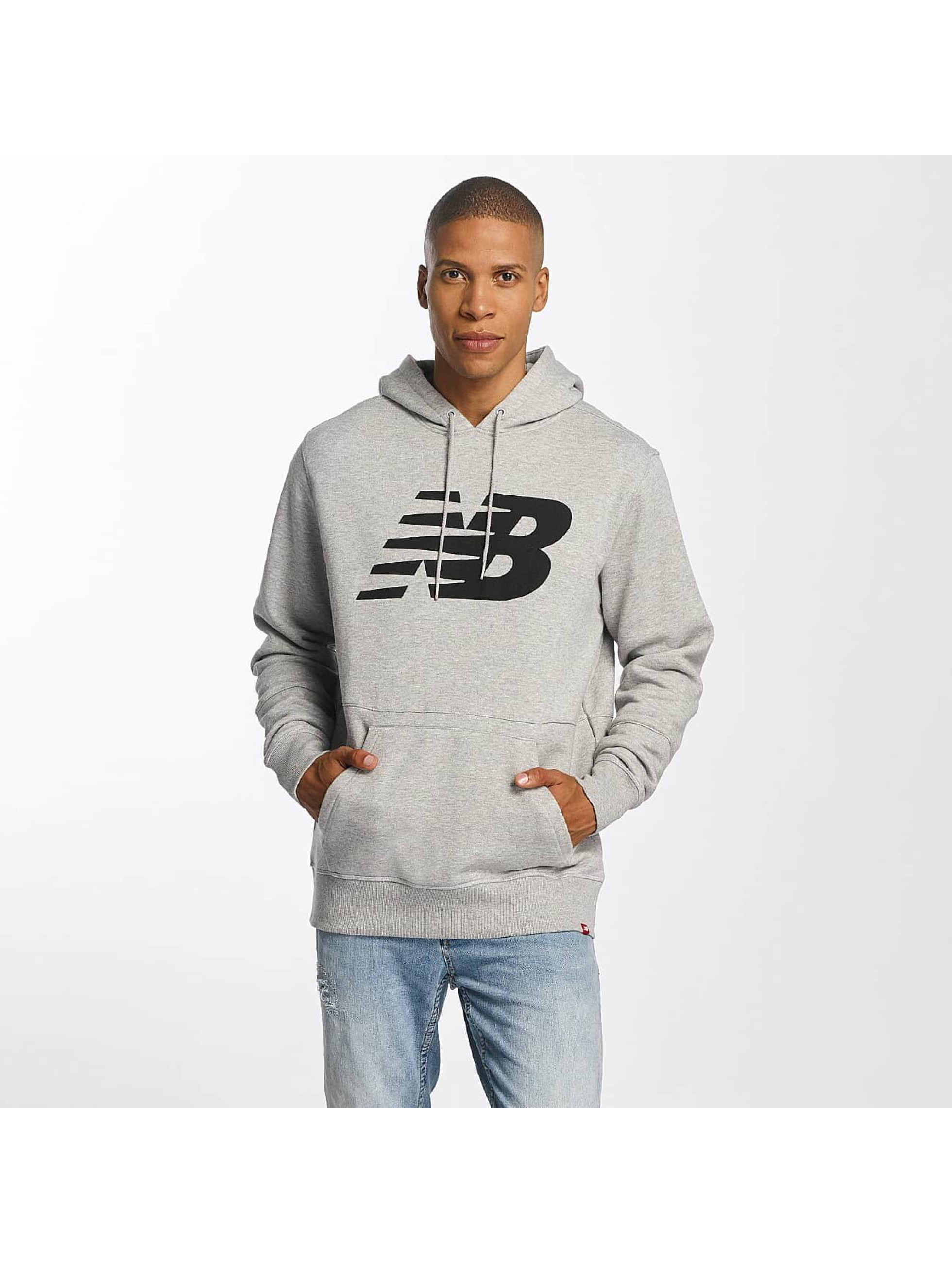 new balance hoodie grau
