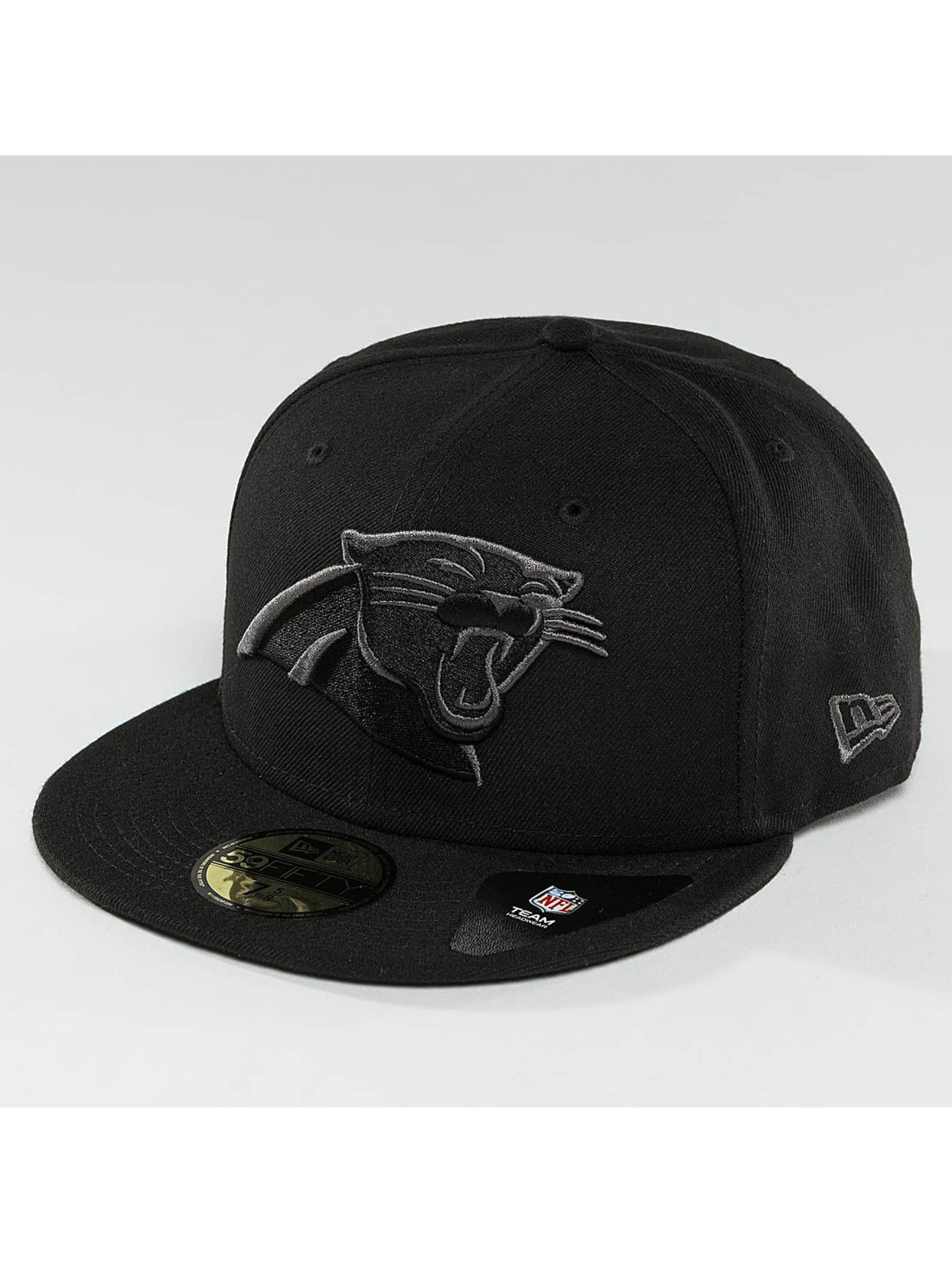 New Era Fitted Cap Black Graphite Carolina Panthers 59Fifty black