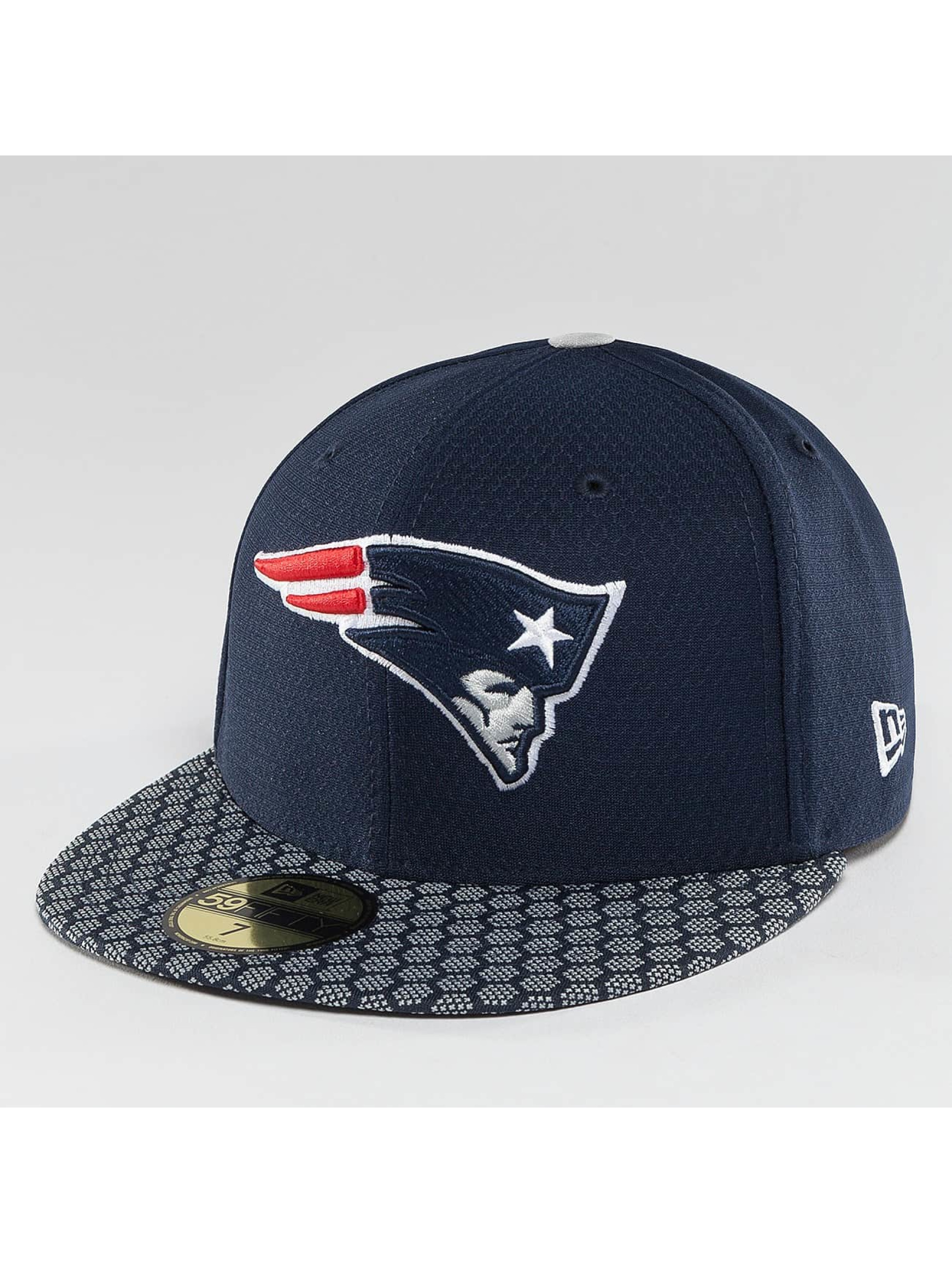 New Era Fitted Cap NFL On Field New Endland Patriots 59Fifty blue