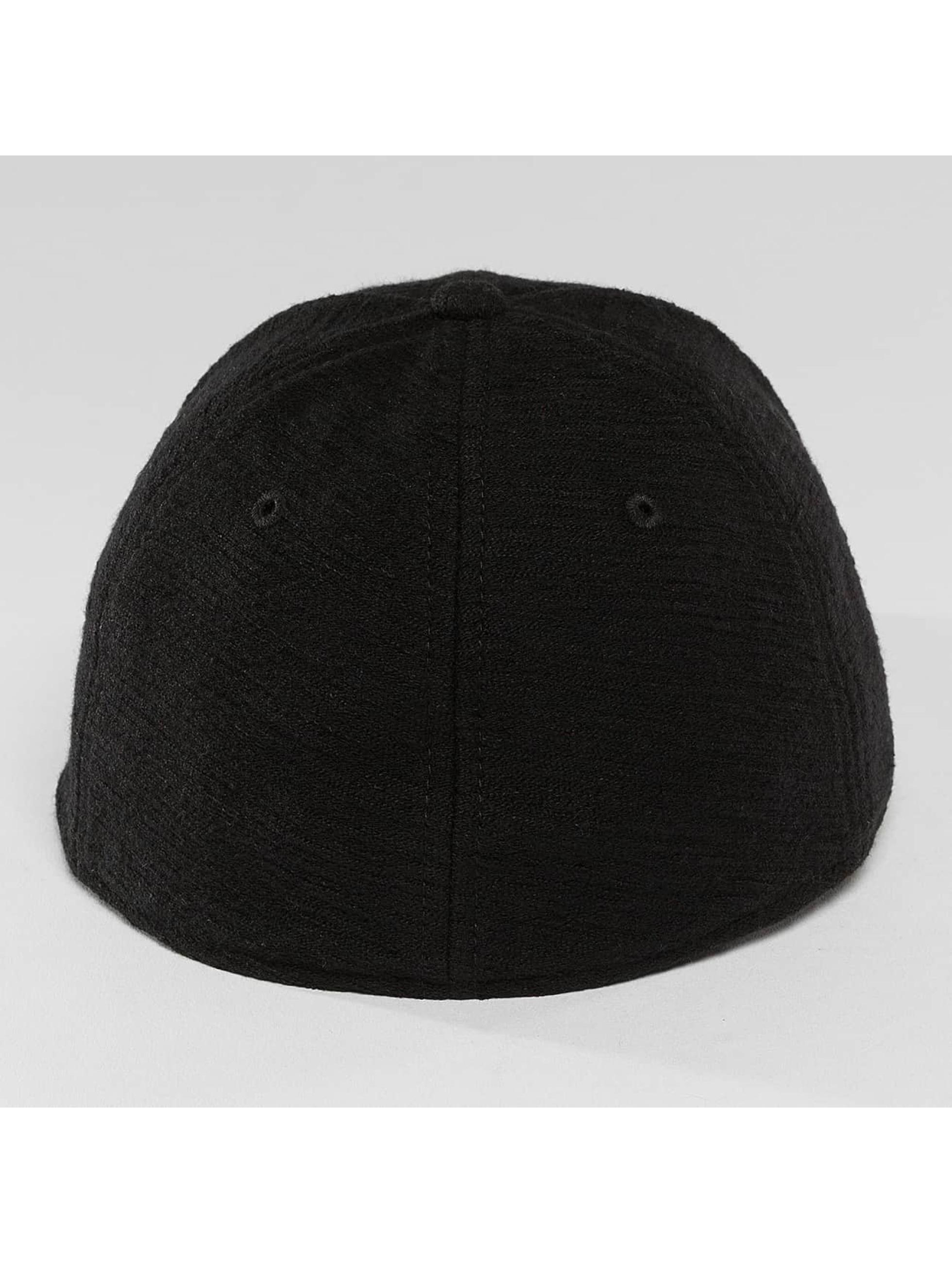 New Era Flexfitted Cap Slub 39Thirty black
