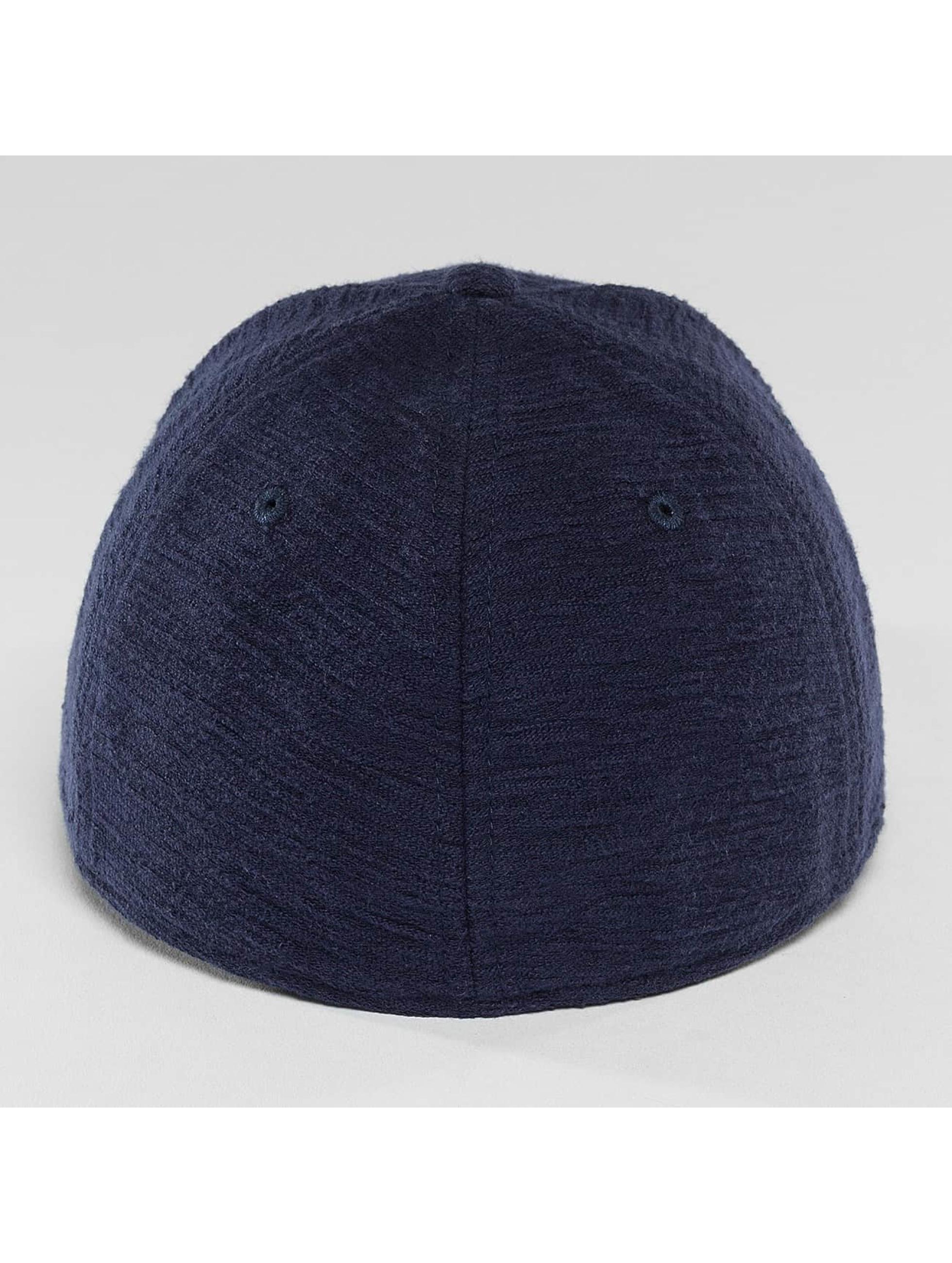 New Era Flexfitted Cap Slub 39Thirty blue
