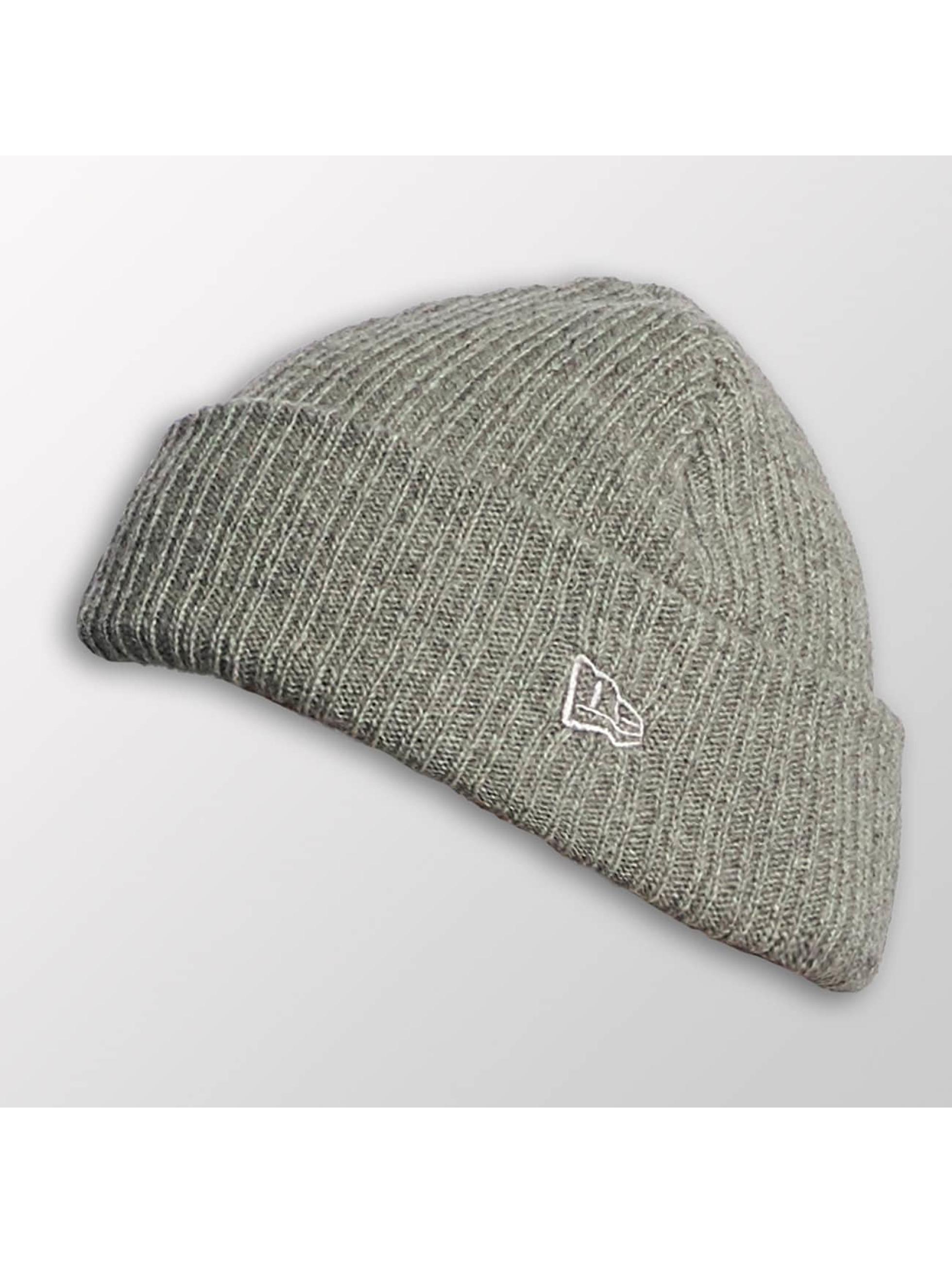 New Era Hat-1 Wool Mixed Knit gray