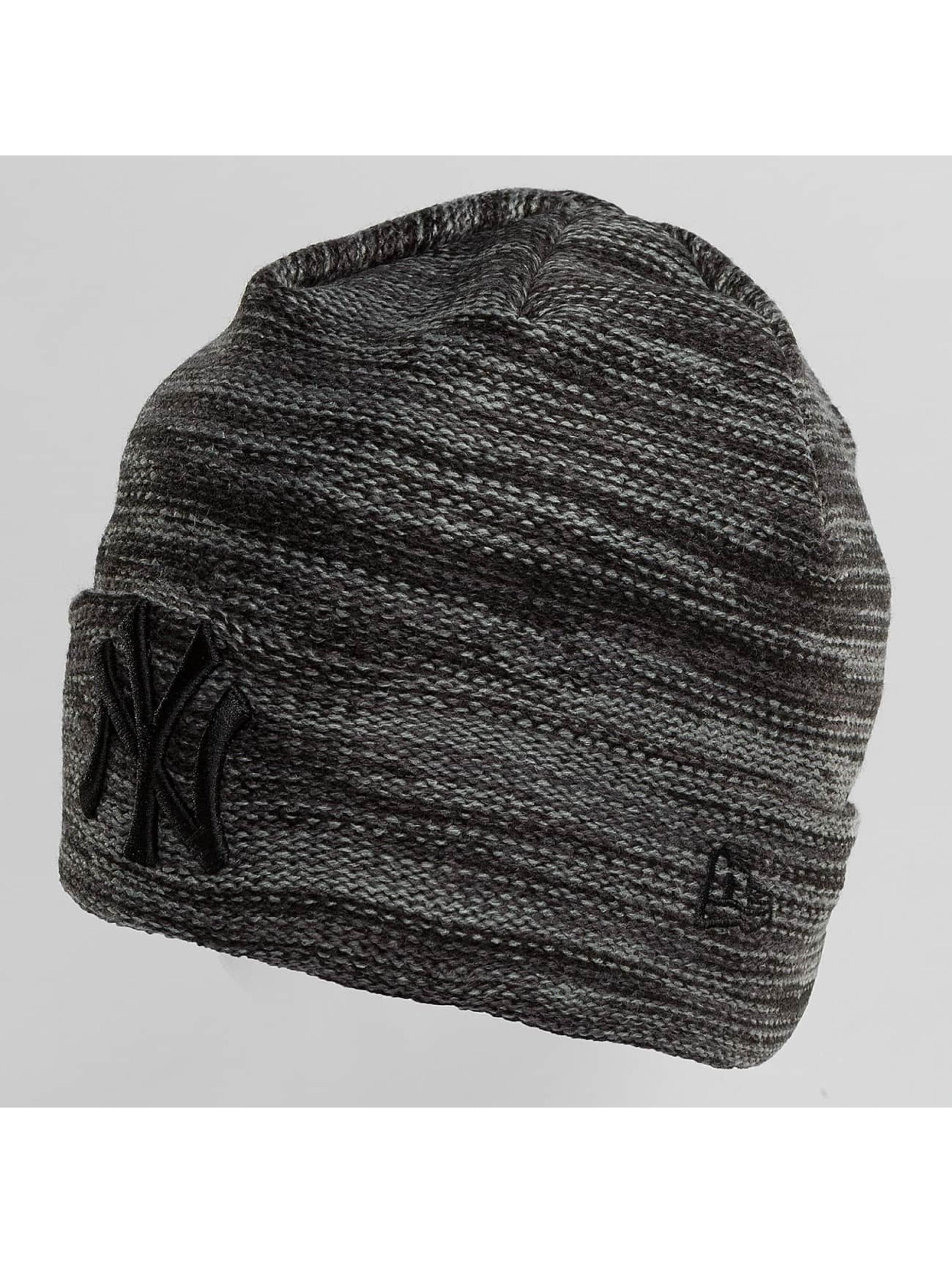 New Era Hat-1 New Era Marl Cuff NY Yankees Beanie gray