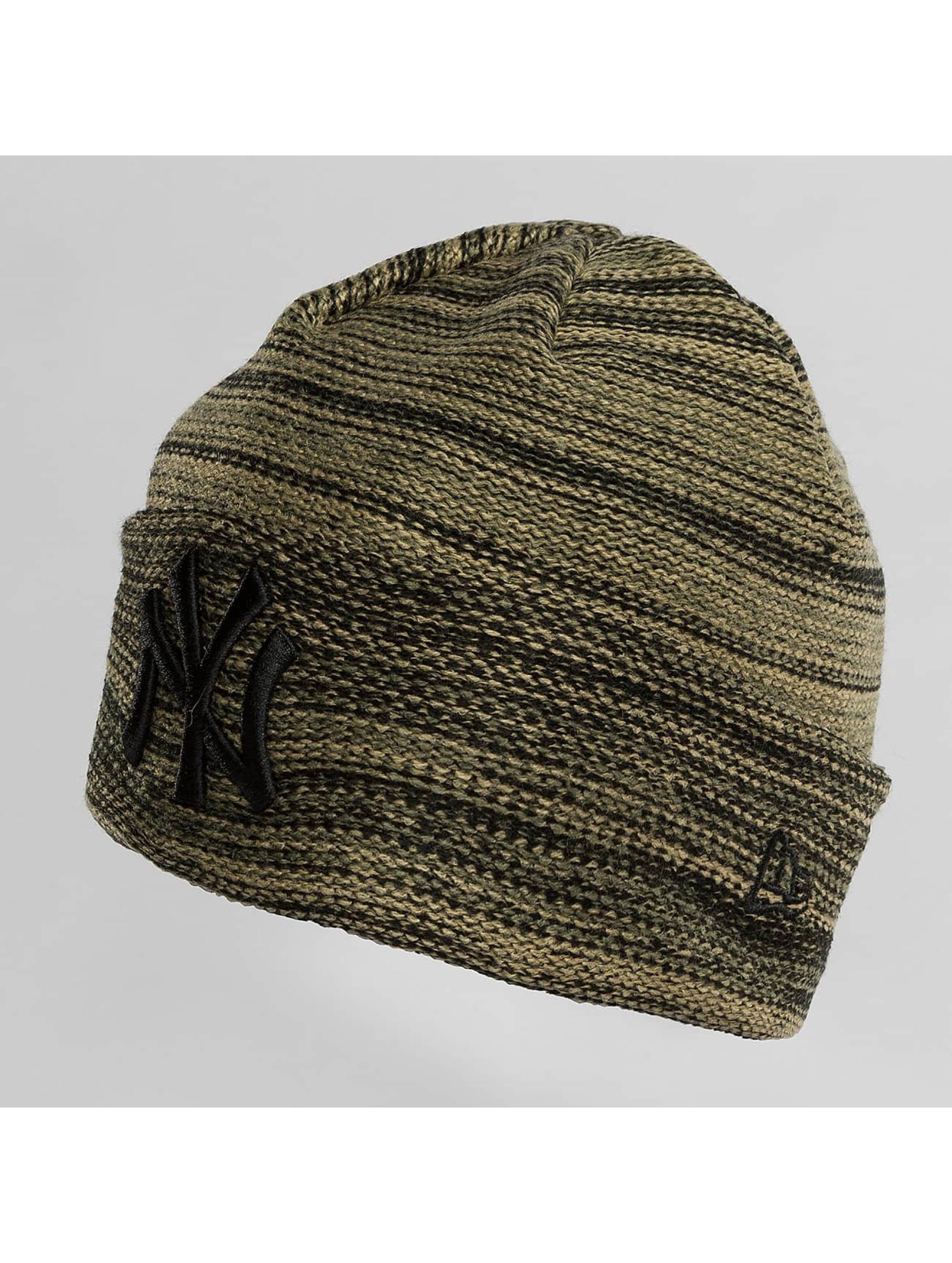 New Era Hat-1 Marl Cuff NY Yankees green