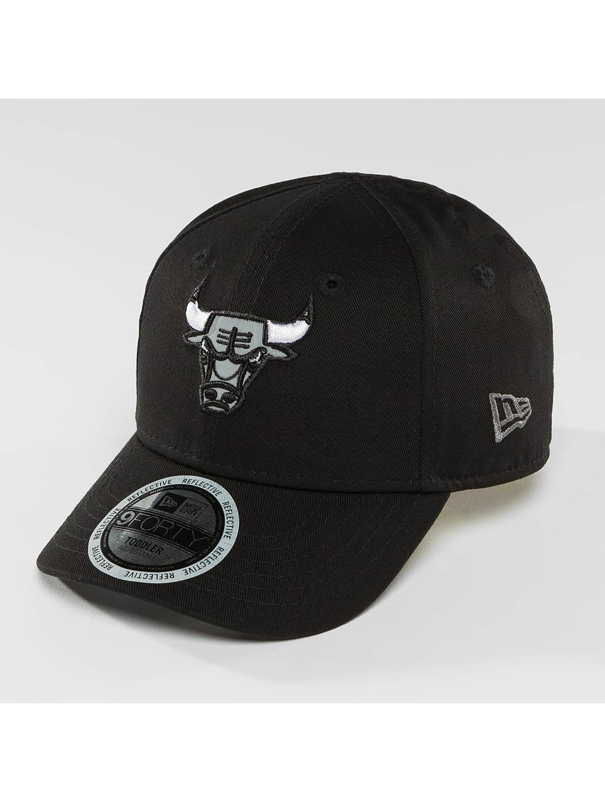 New Era Snapback Cap Reflect Chicago Bulls 9Forty black