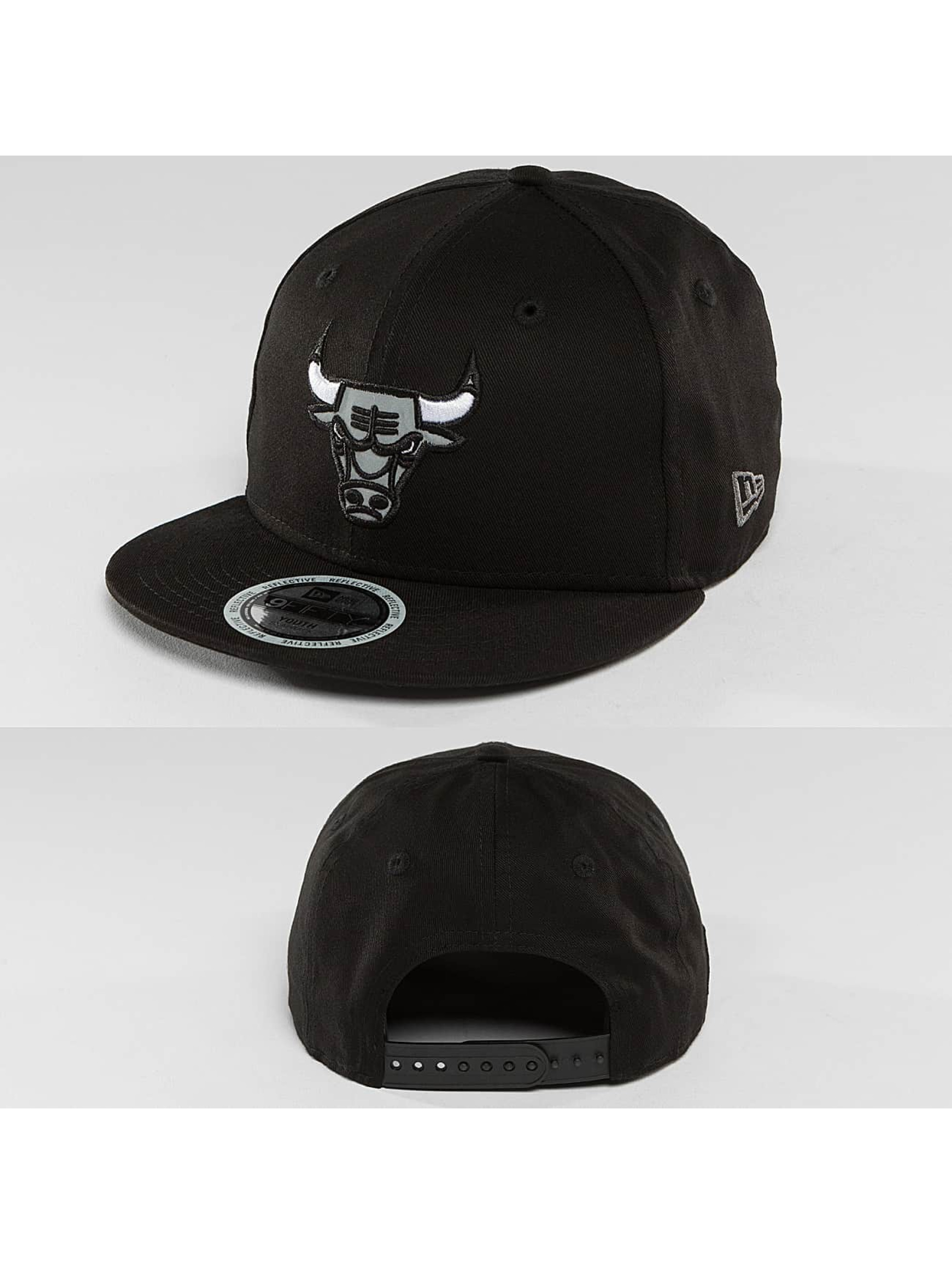 New Era Snapback Cap Reflect Chicago Bulls 9Fifty black
