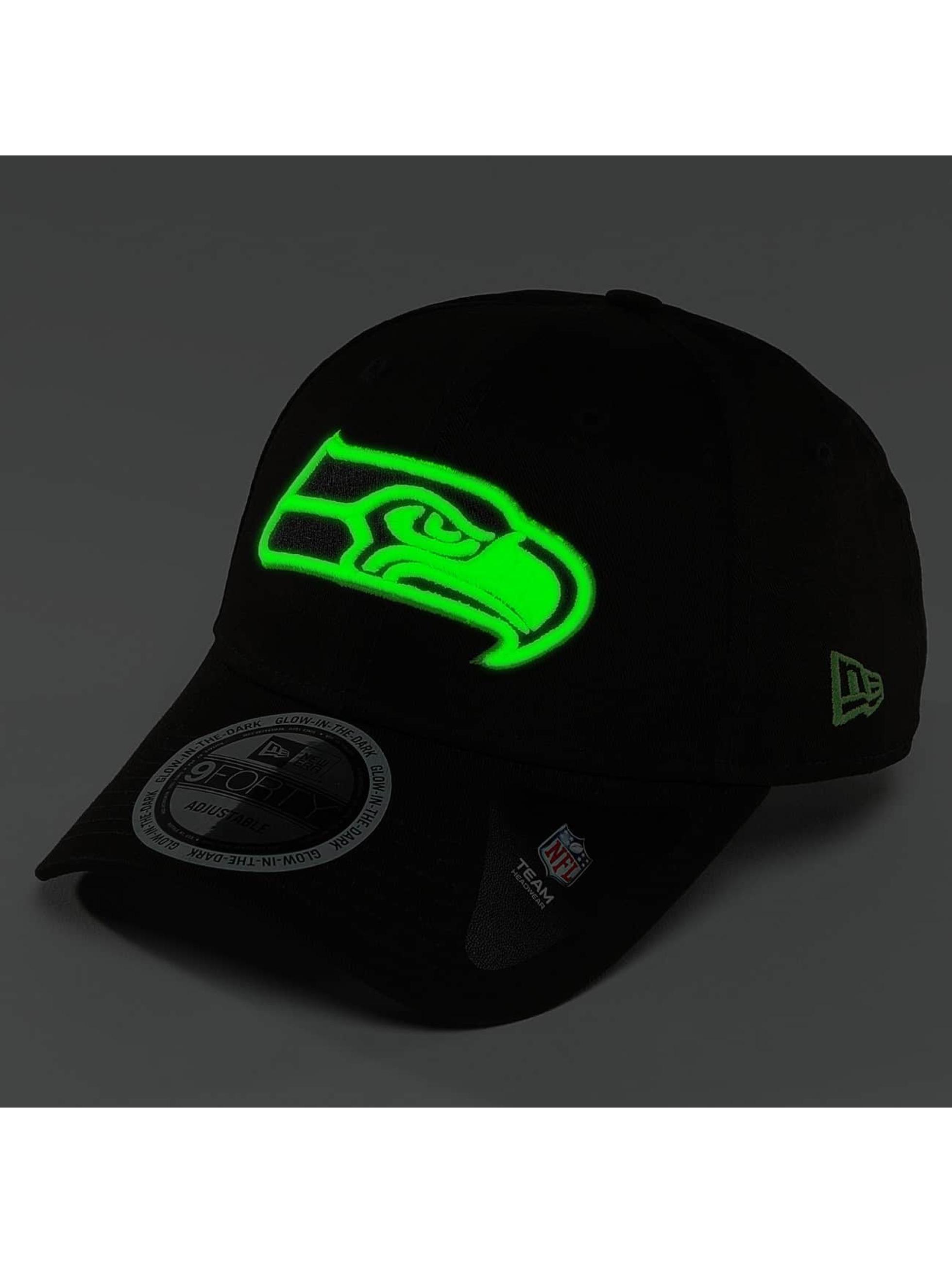 New Era Snapback Cap Team GITD Basic Seattle Seahawks black