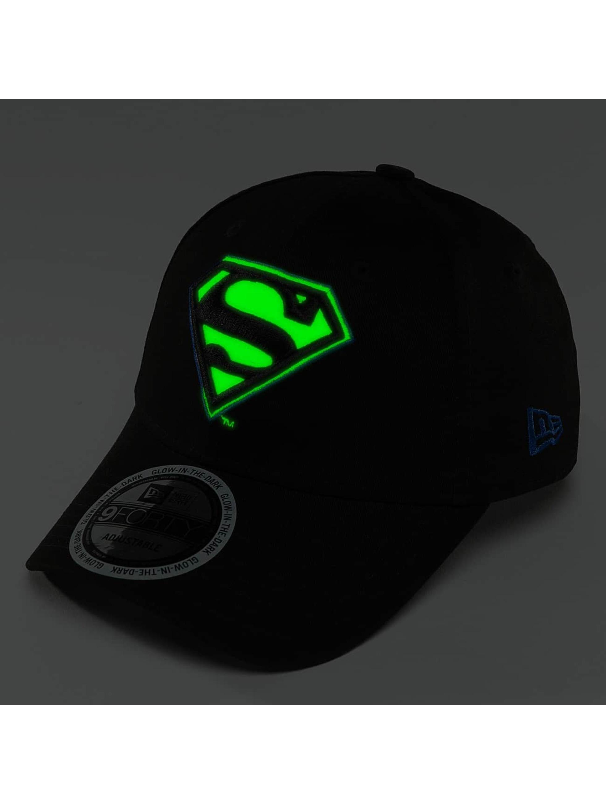 New Era Snapback Cap Team GITD Basic Superman black