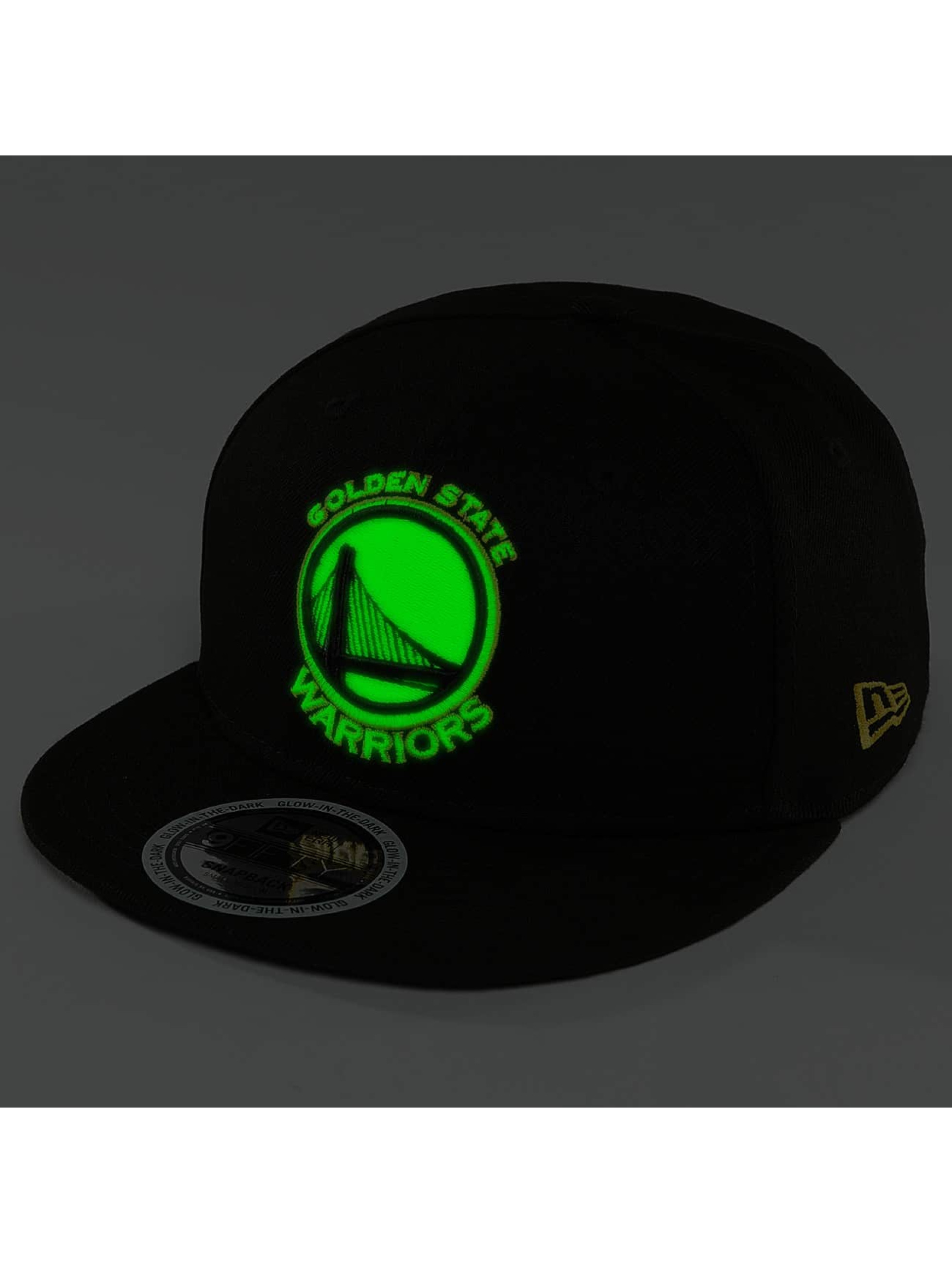 New Era Snapback Cap Team GITD Basic Golden State Warriors 9Fifty black