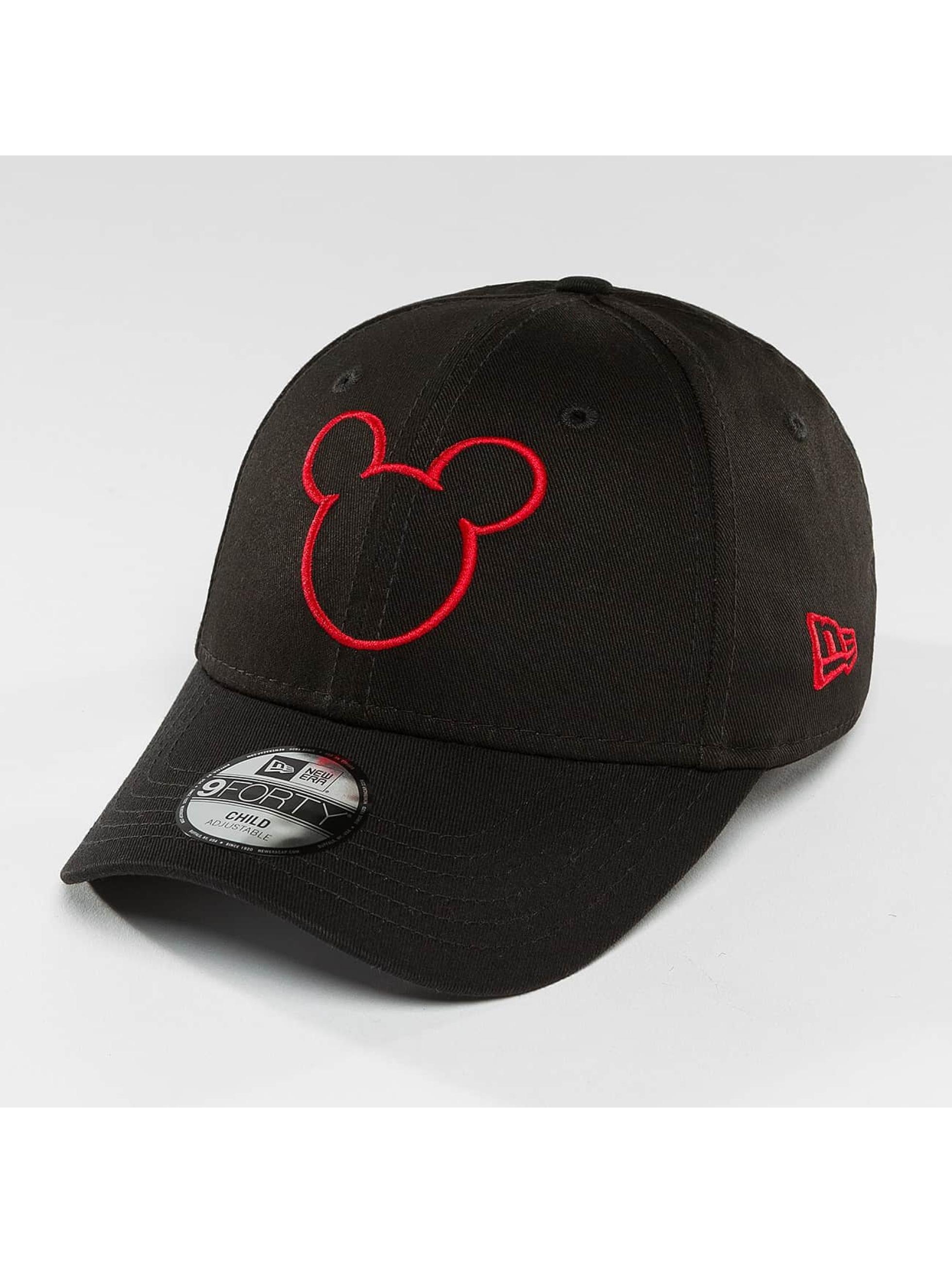 New Era Snapback Cap Disney Silhoutte Micky Maus JR black