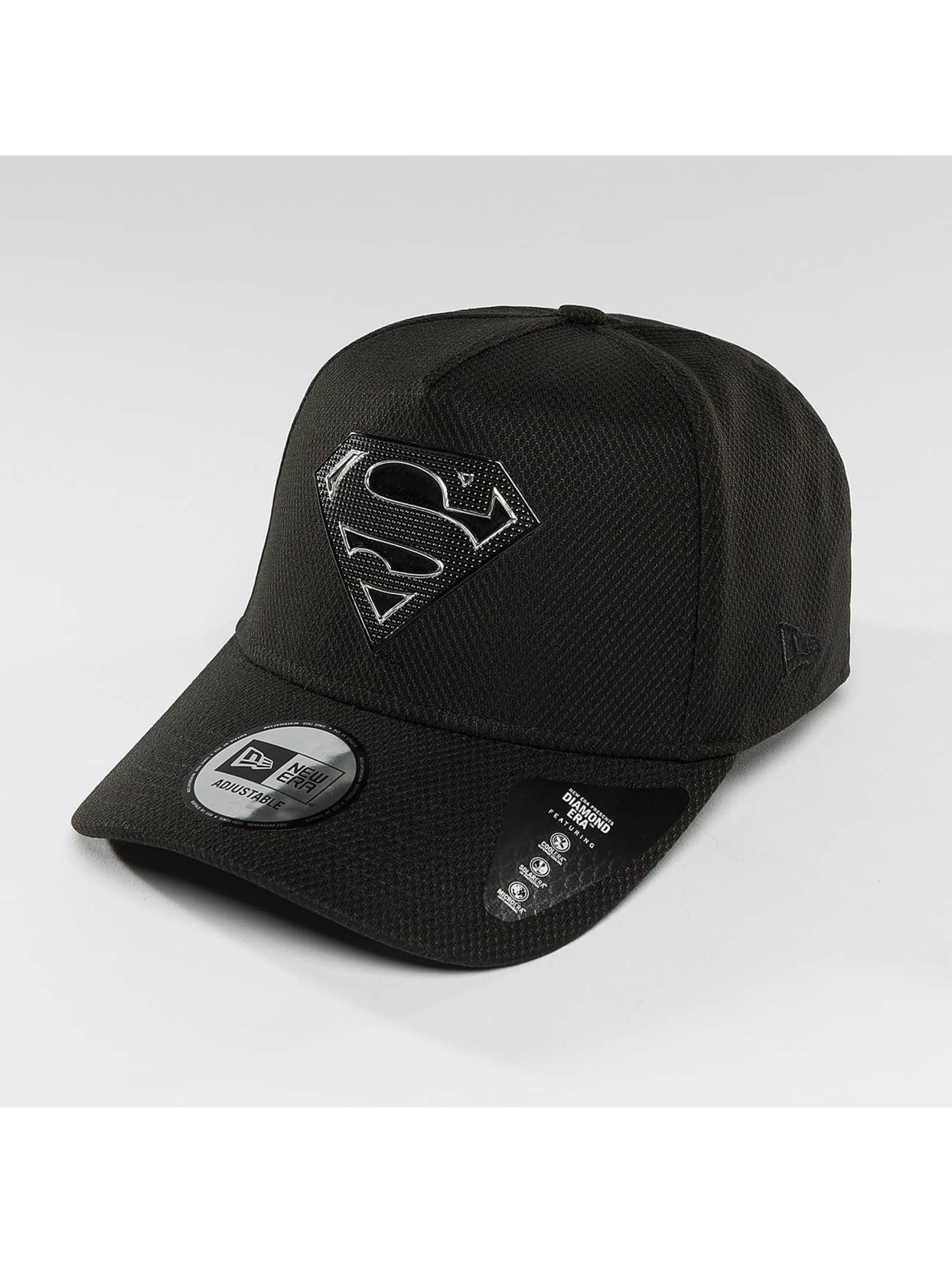 New Era Snapback Cap Blacked Out black