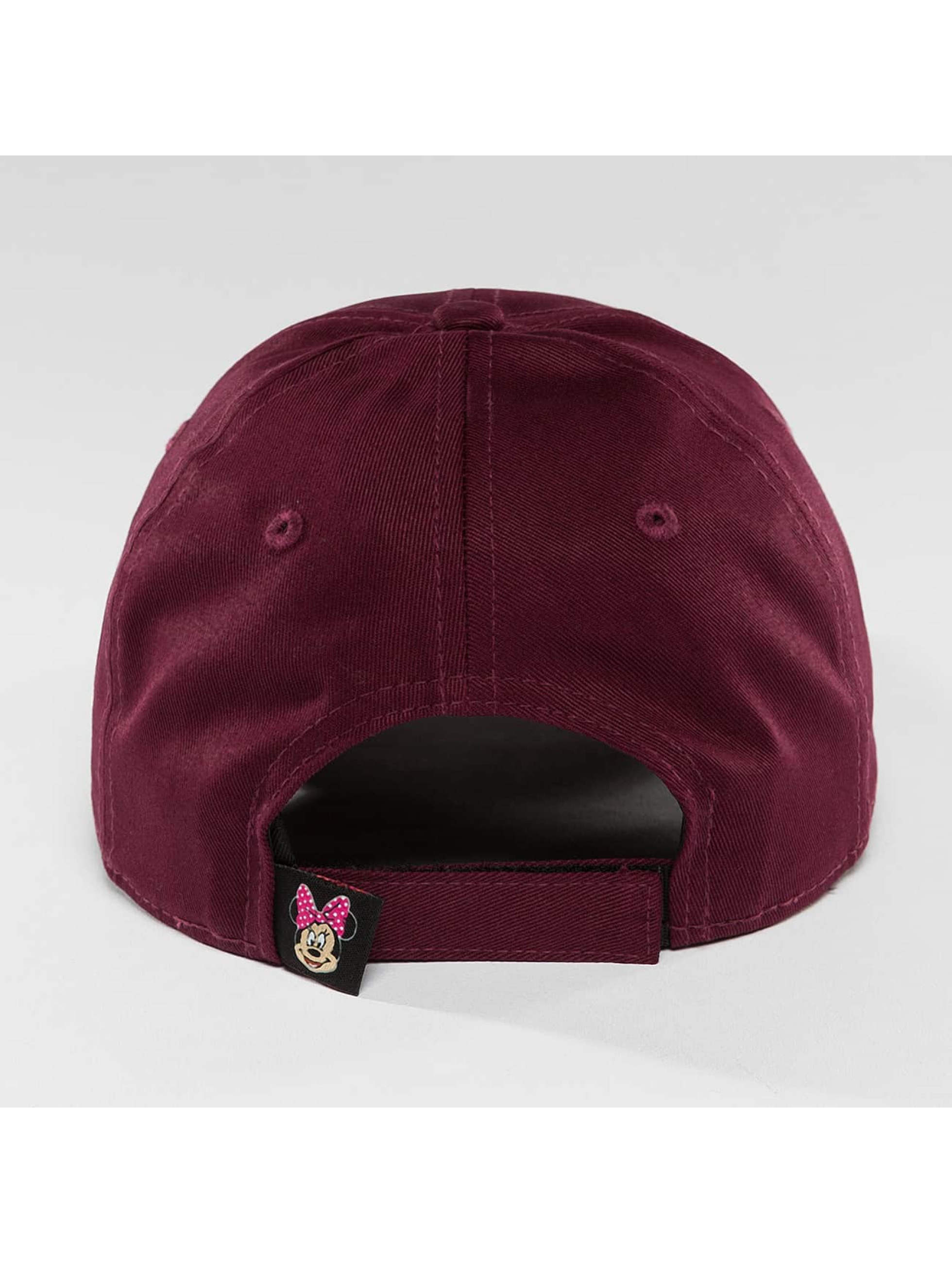 New Era Snapback Cap Disney Silhoutte Minnie Maus red