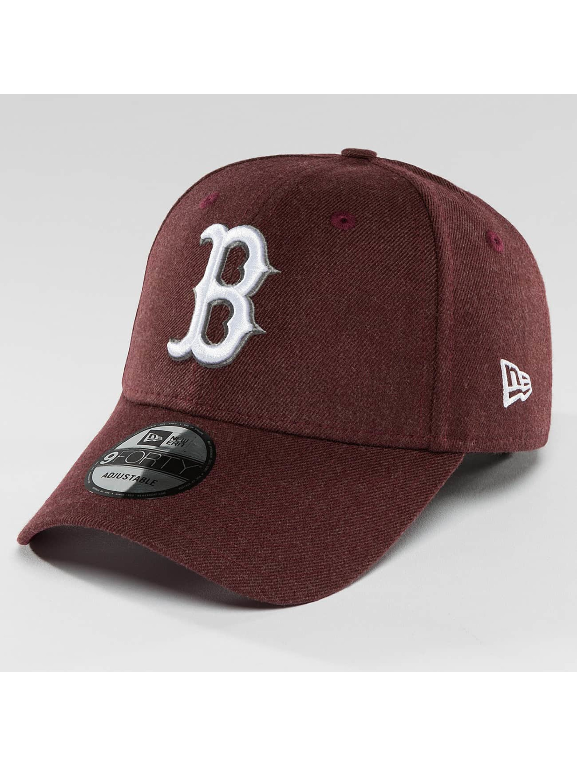New Era Snapback Cap Seasonal Heather Boston Red Sox red