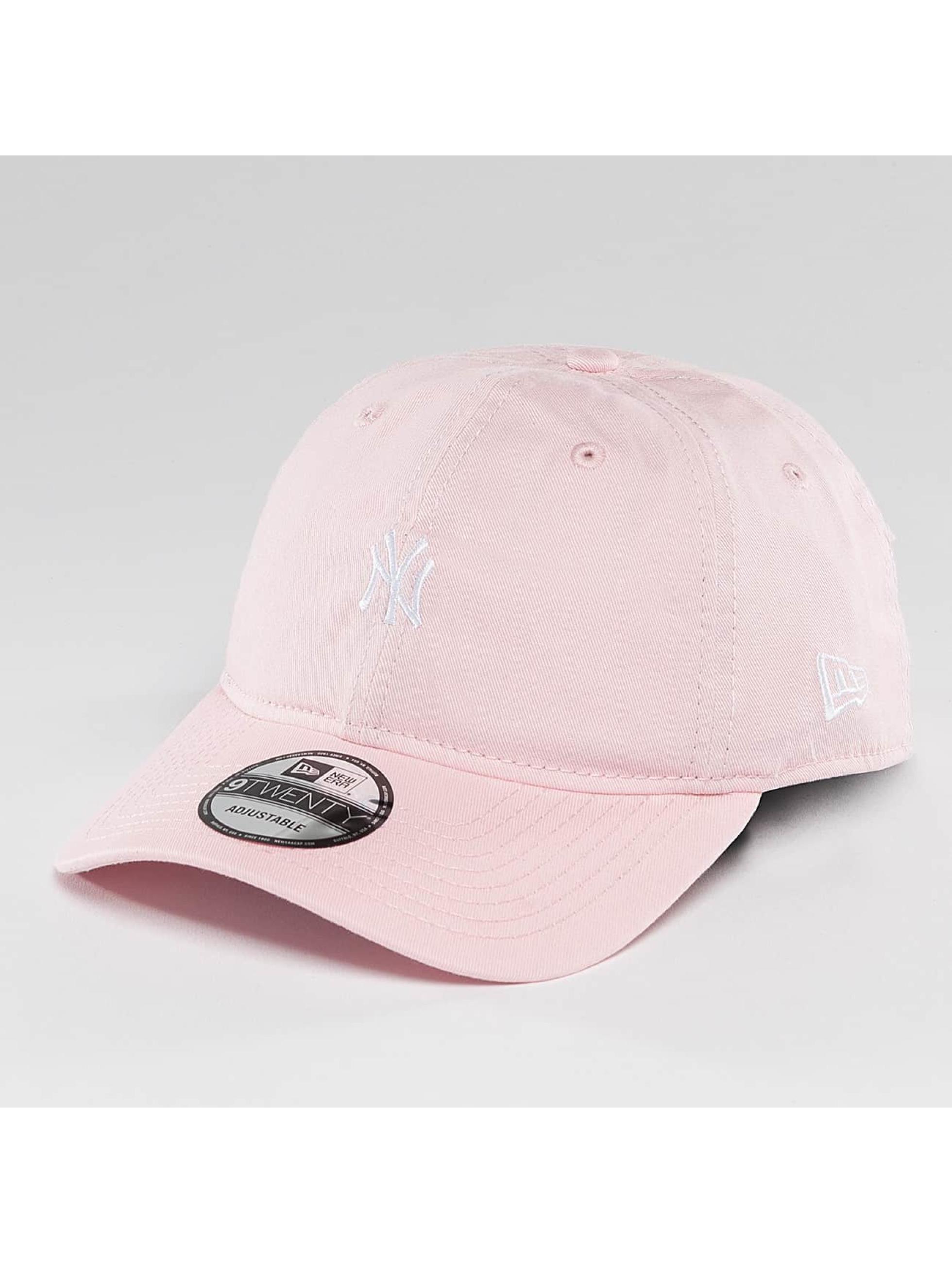 New Era Snapback Cap Pastel Micro NY Yankees 9Twenty rose
