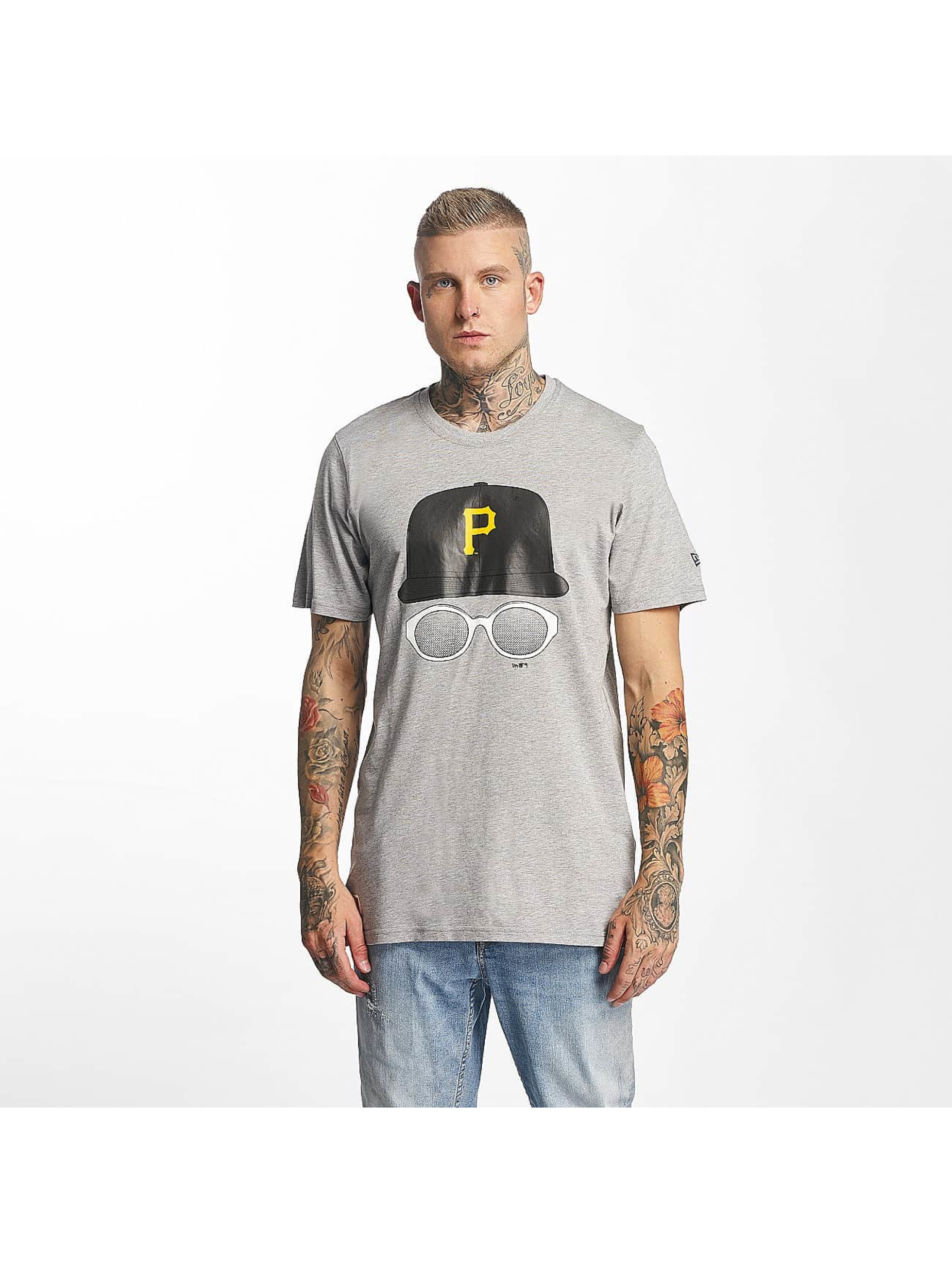 New Era T-Shirt MLB Cap And Shades Pittsburgh Pirates gray