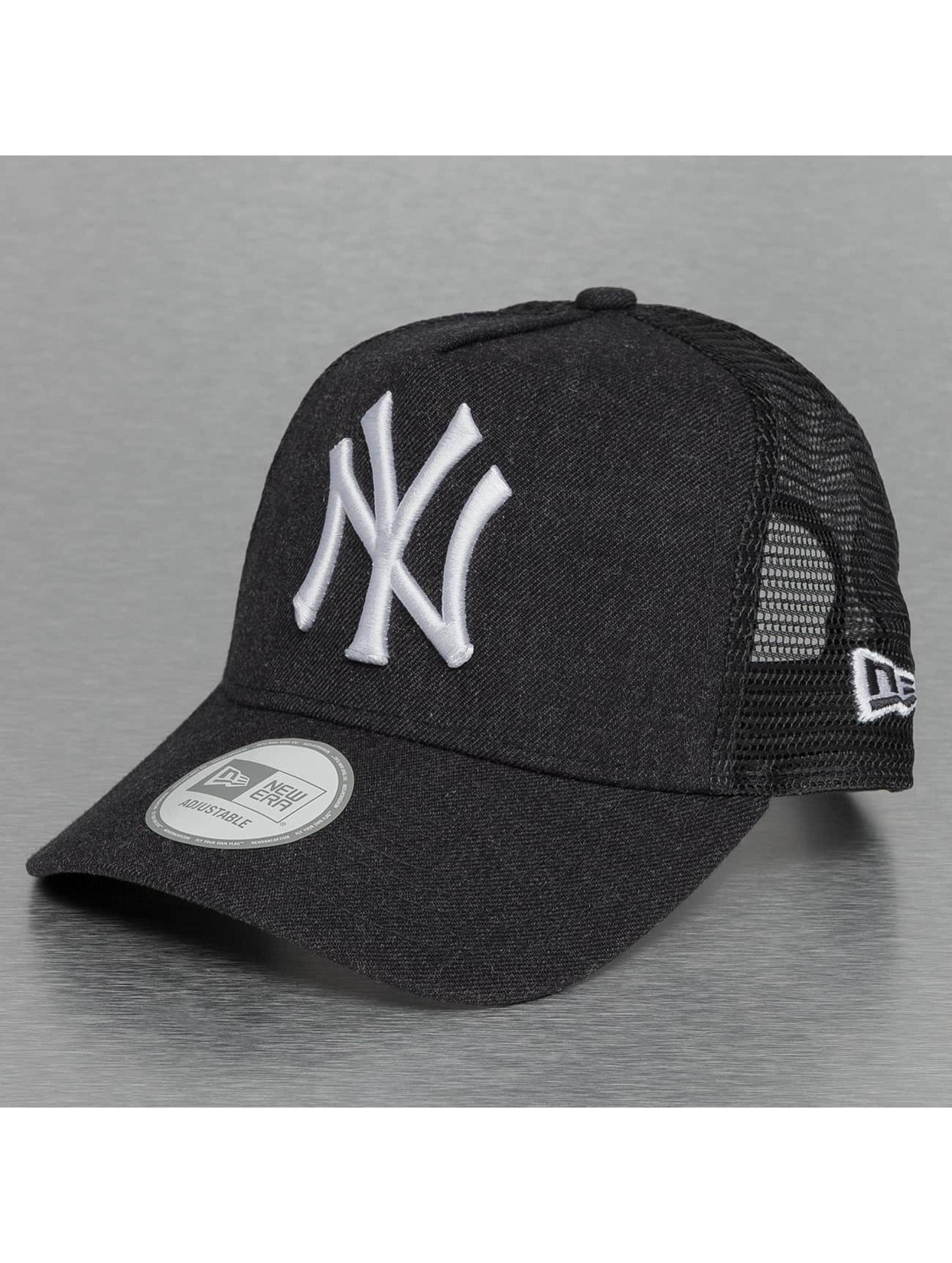New Era Trucker Noir