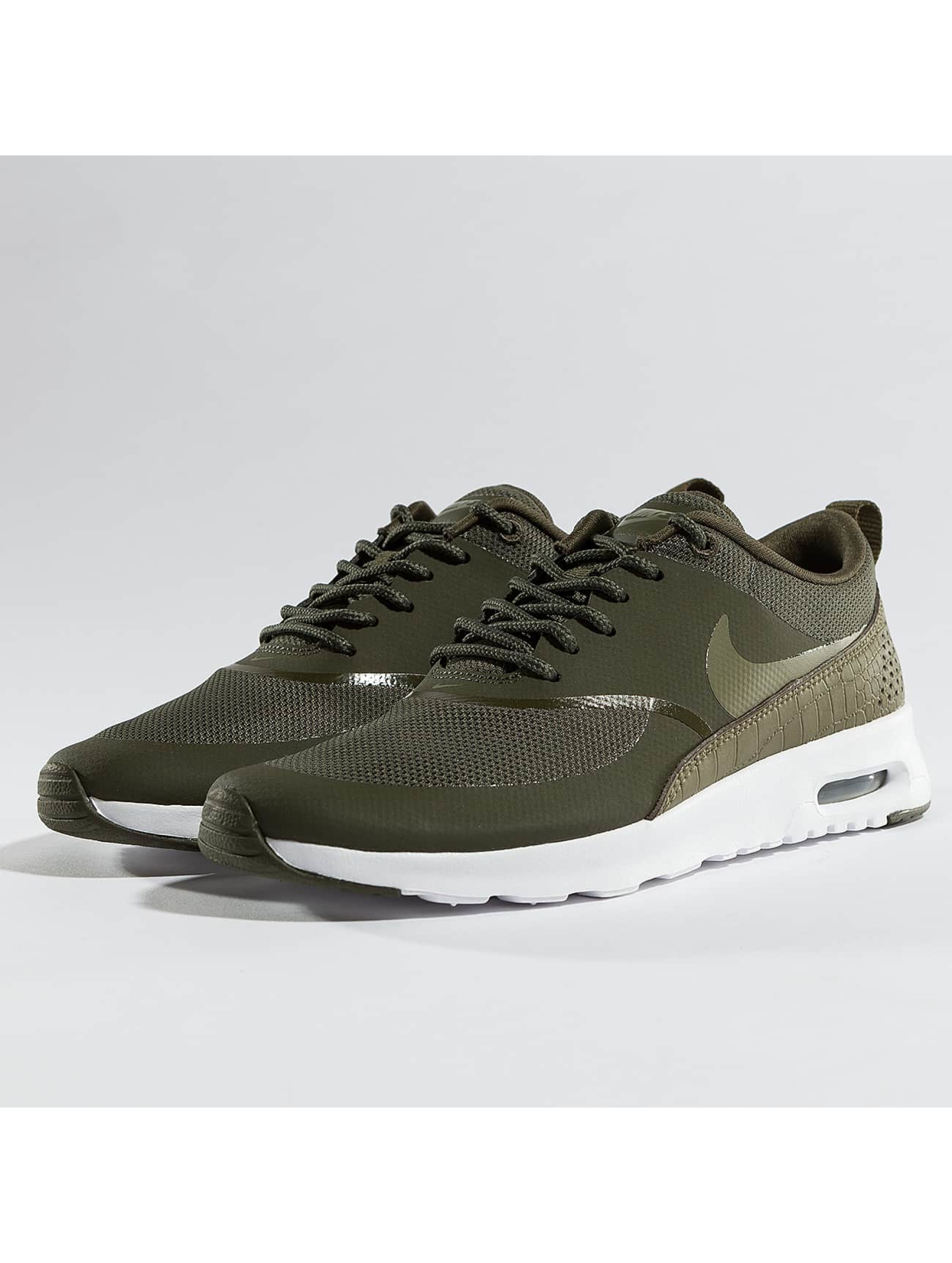 nike air max thea kaki femme baskets nike acheter pas cher chaussures 364897. Black Bedroom Furniture Sets. Home Design Ideas