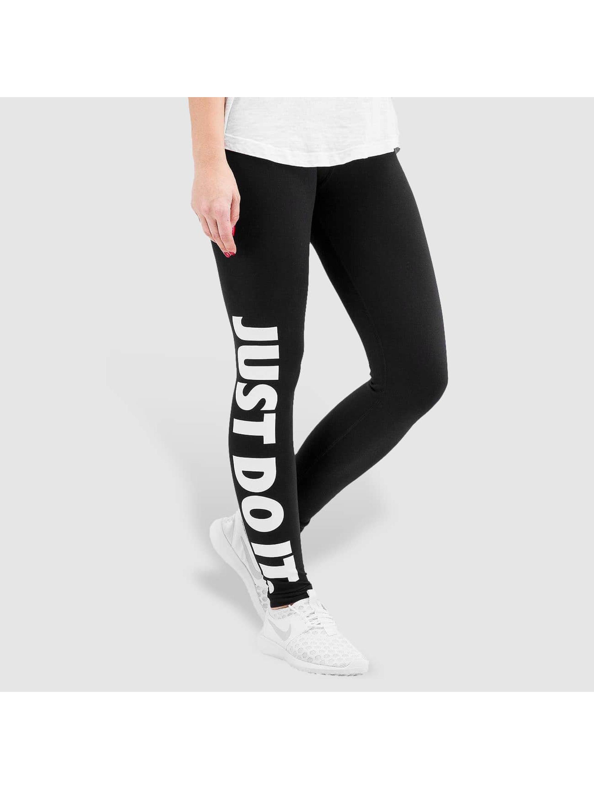 nike broek legging leg a see just do it in zwart 217382. Black Bedroom Furniture Sets. Home Design Ideas