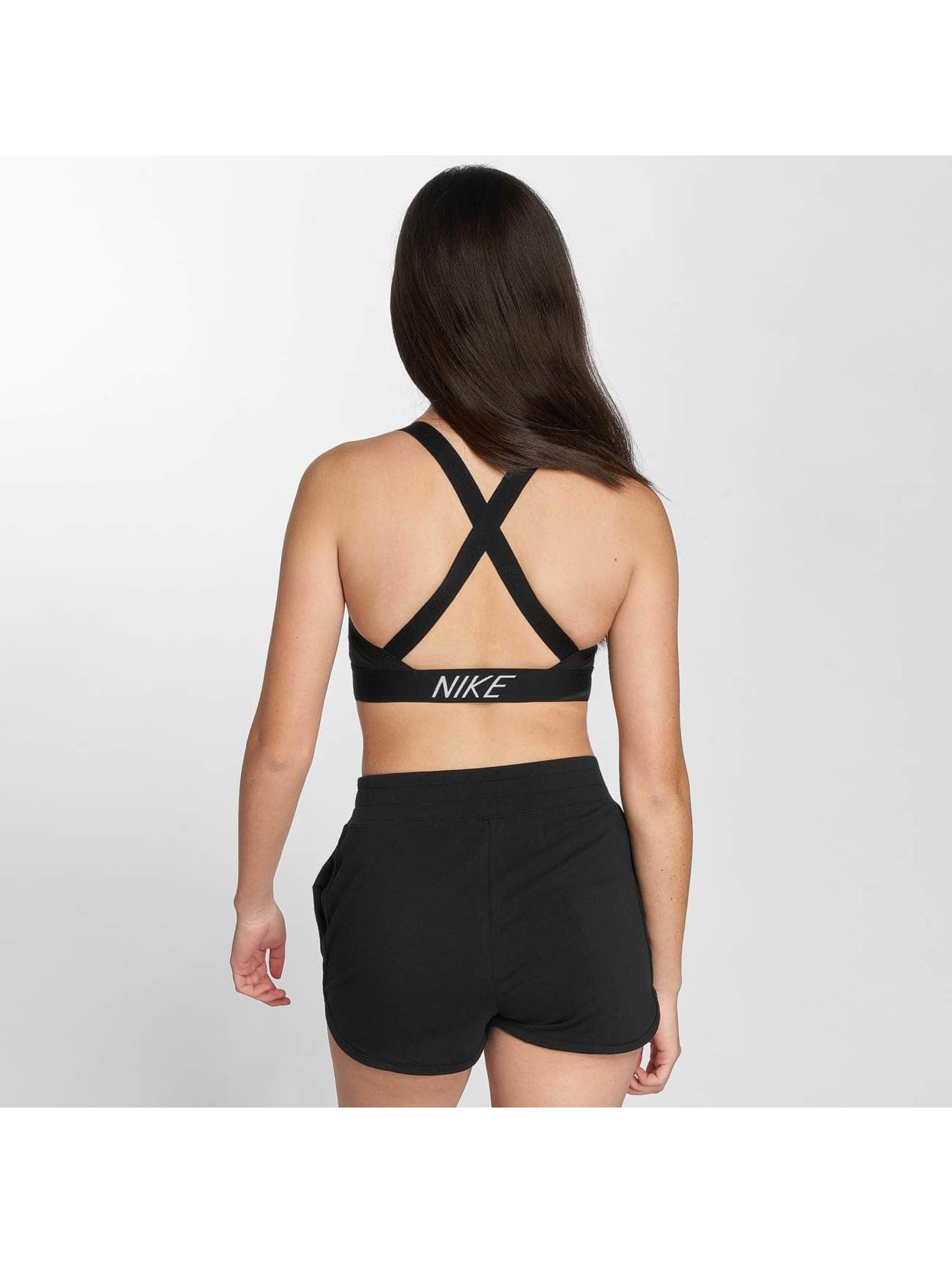 Nike Performance Sports Bra Pro Indy Logo Back black