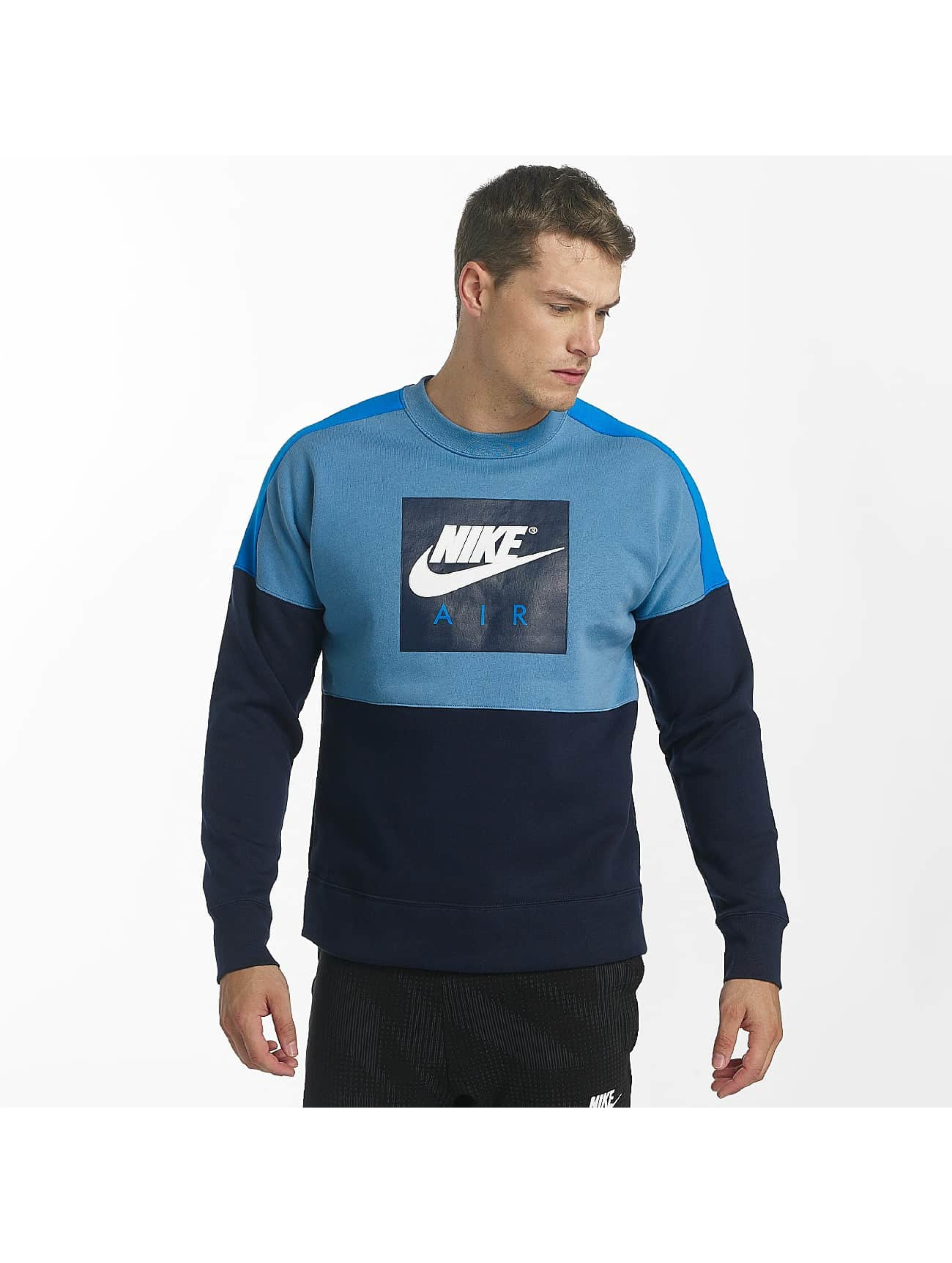 nike herren pullover sportswear in blau 425990. Black Bedroom Furniture Sets. Home Design Ideas