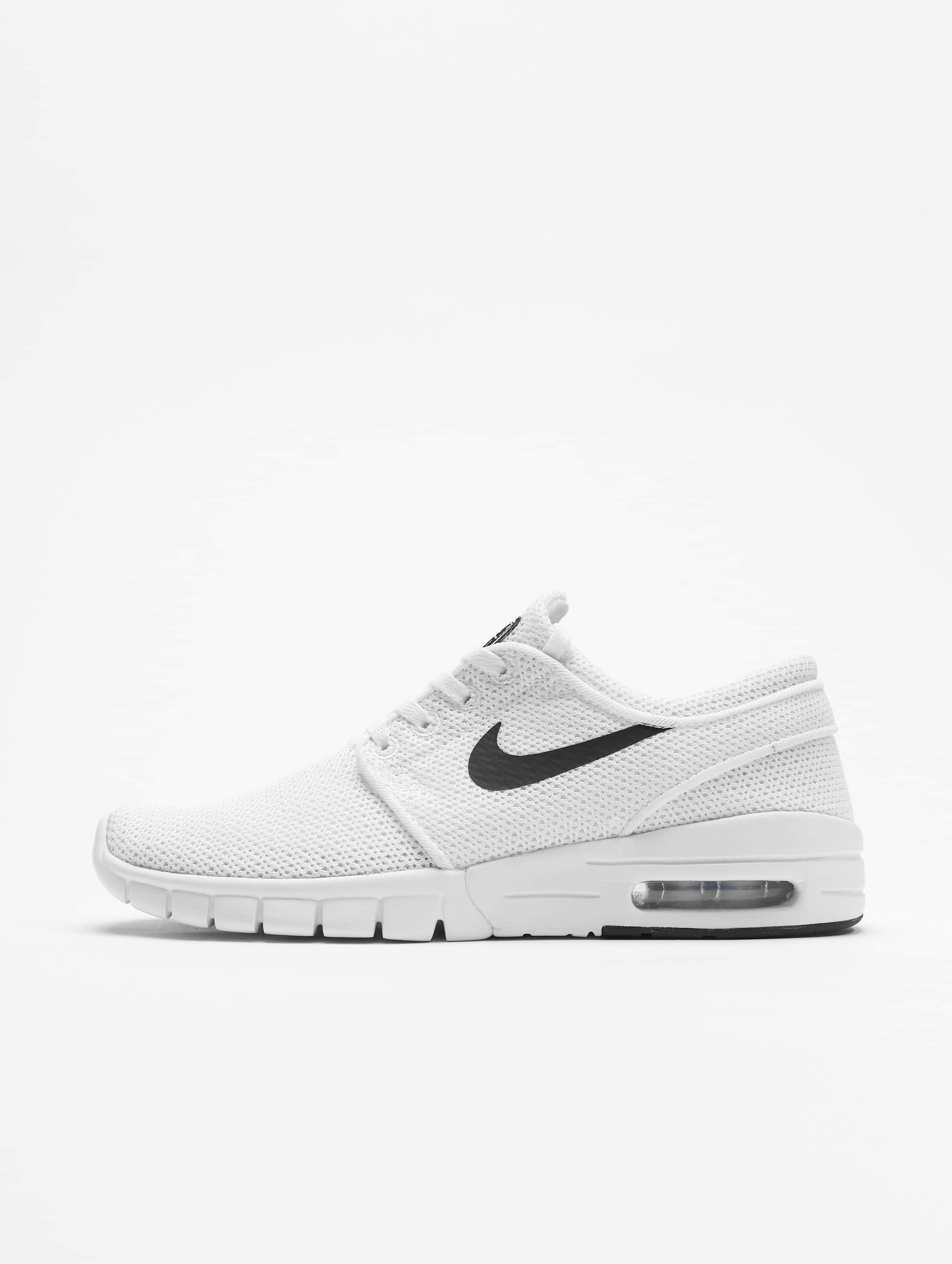 nike sb stefan janoski max blanc homme baskets nike sb acheter pas cher chaussures 218446. Black Bedroom Furniture Sets. Home Design Ideas