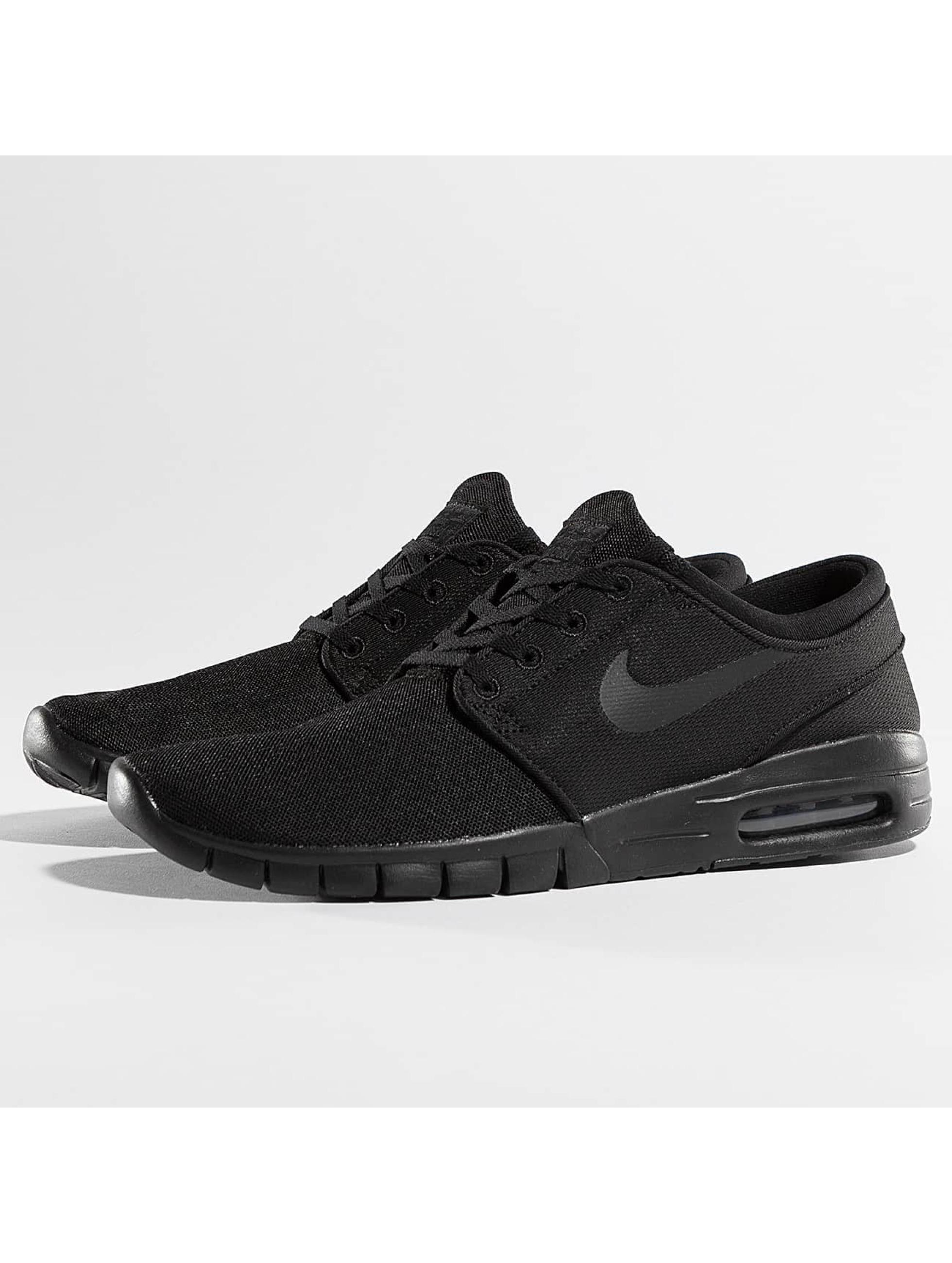 nike sb herren sneaker stefan janoski max in schwarz 219046. Black Bedroom Furniture Sets. Home Design Ideas