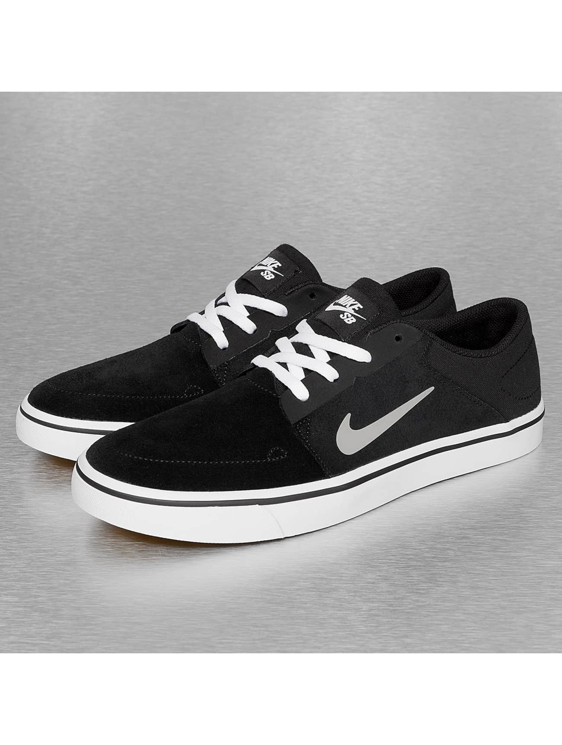 nike sb herren sneaker sb portmore in schwarz 235946. Black Bedroom Furniture Sets. Home Design Ideas