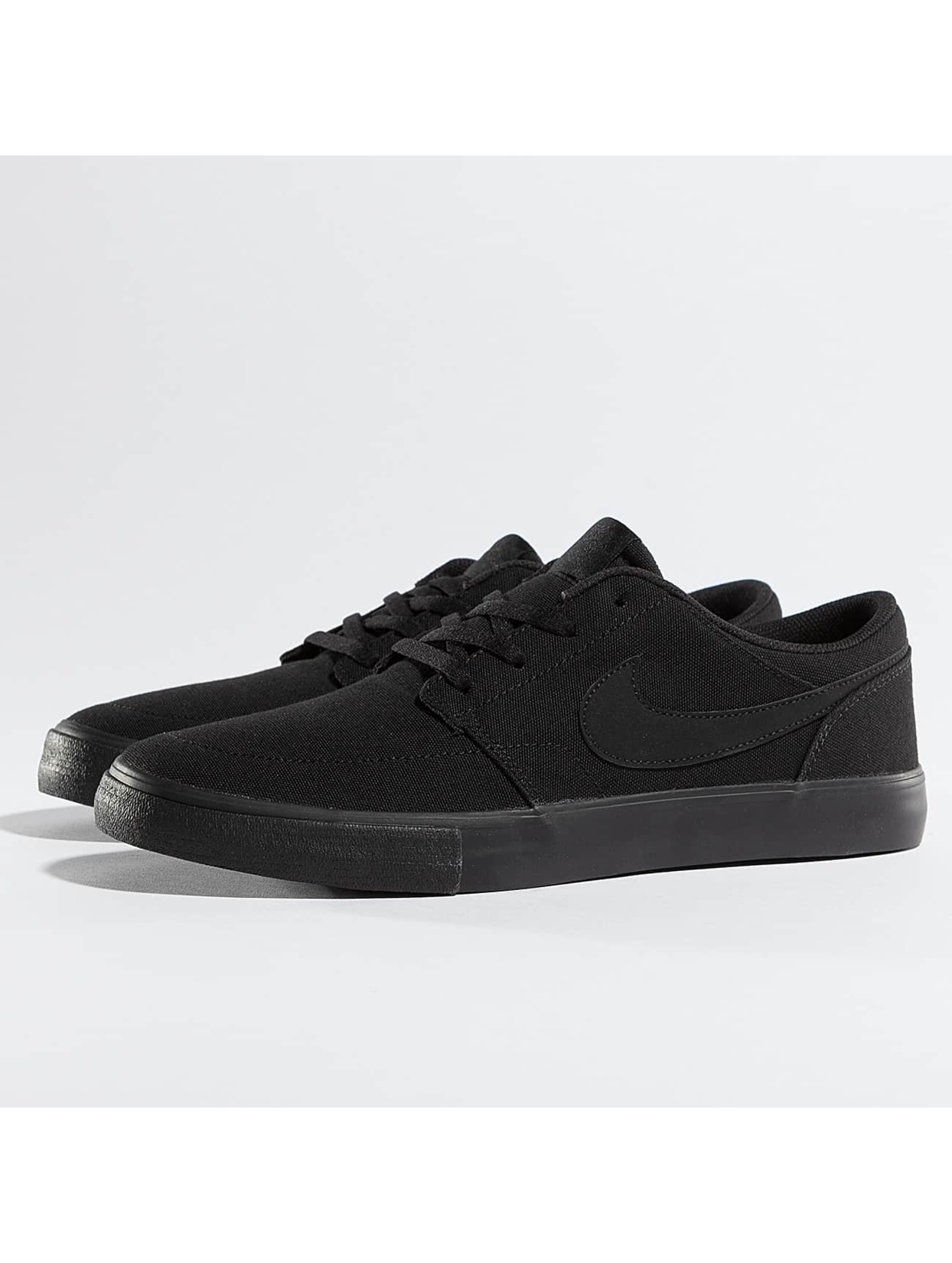 nike sb herren sneaker solarsoft portmore ii in schwarz 306047. Black Bedroom Furniture Sets. Home Design Ideas