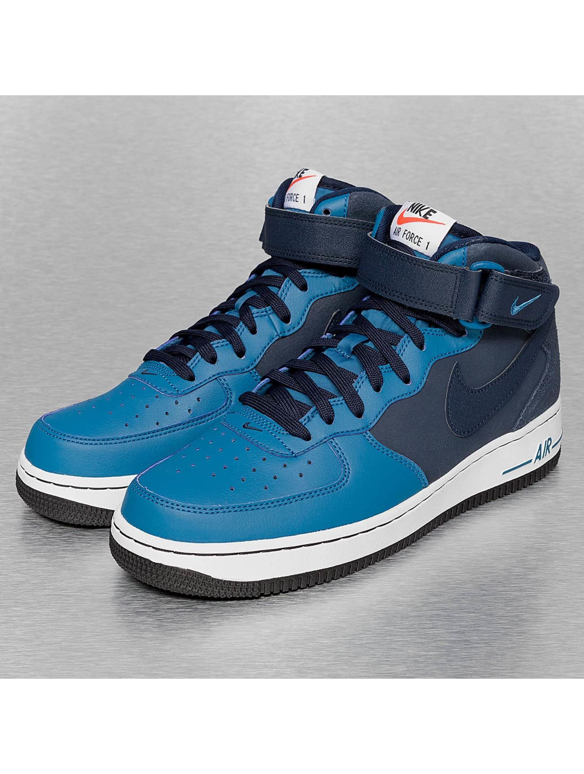 Nike Air Force Blaue Sohle