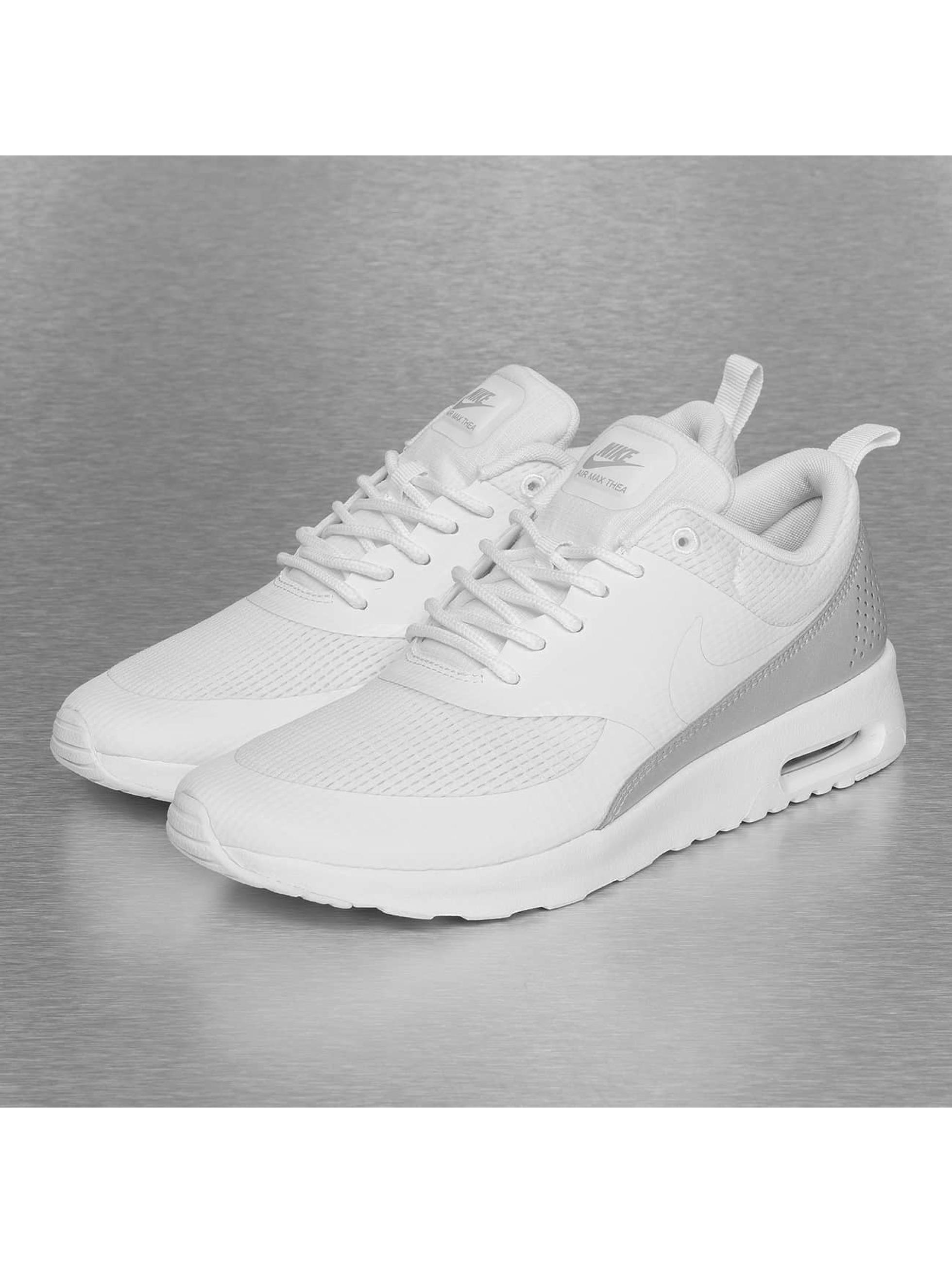 dames nike air max thea sneakers zwart/wit