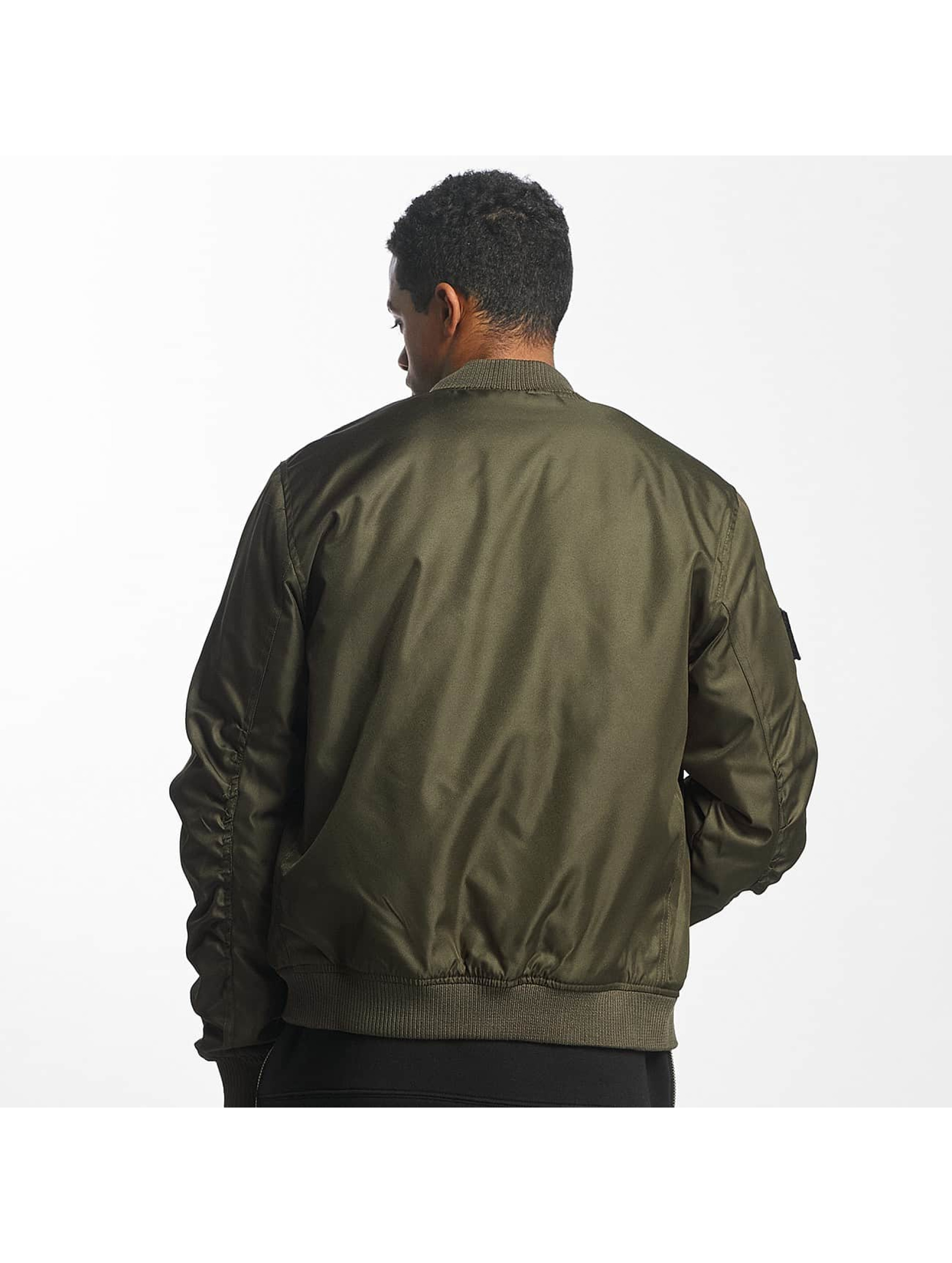 Nobody Berlin Bomber jacket N Logo olive