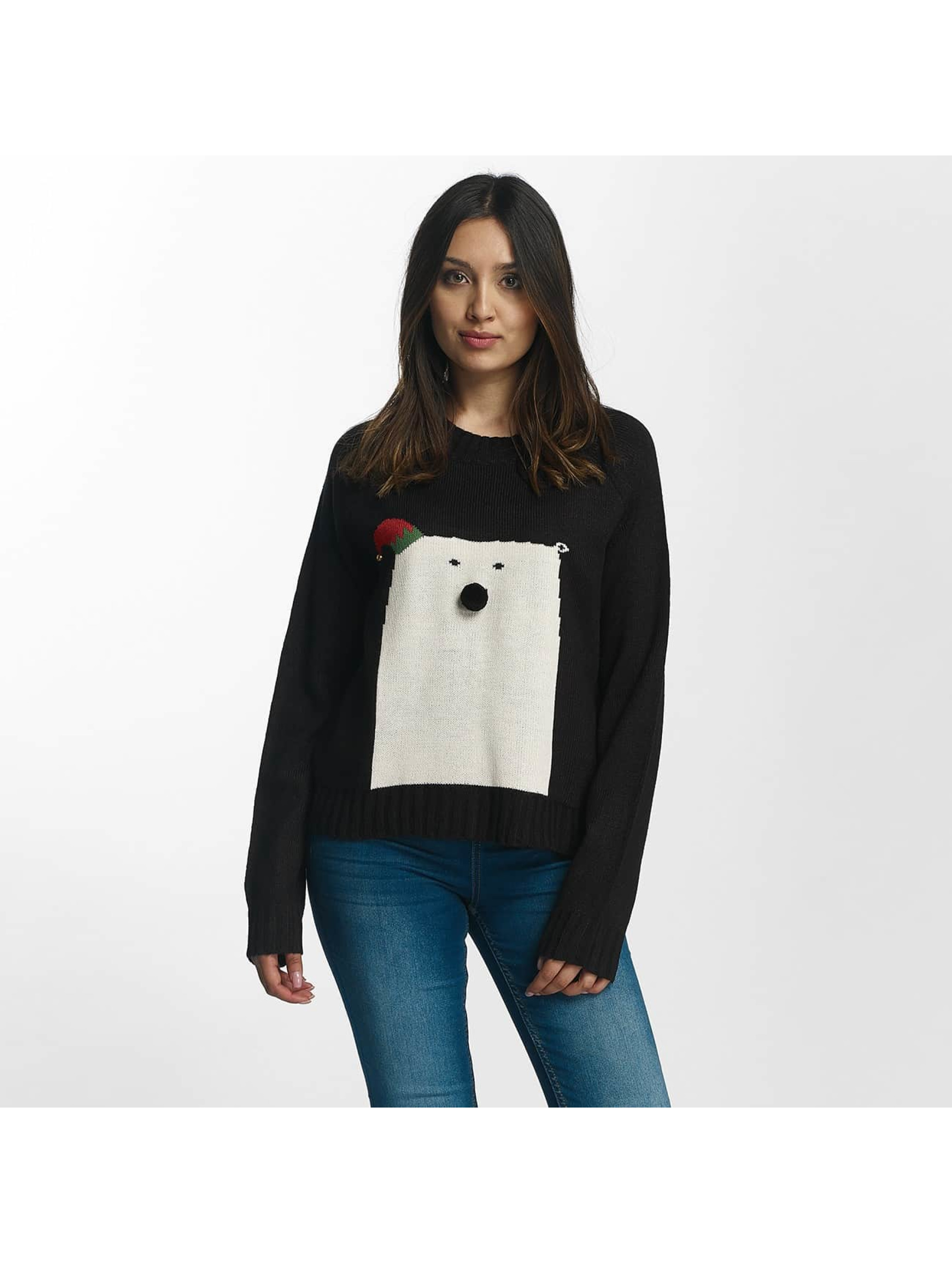 Noisy May Pullover nmSnow Bear black