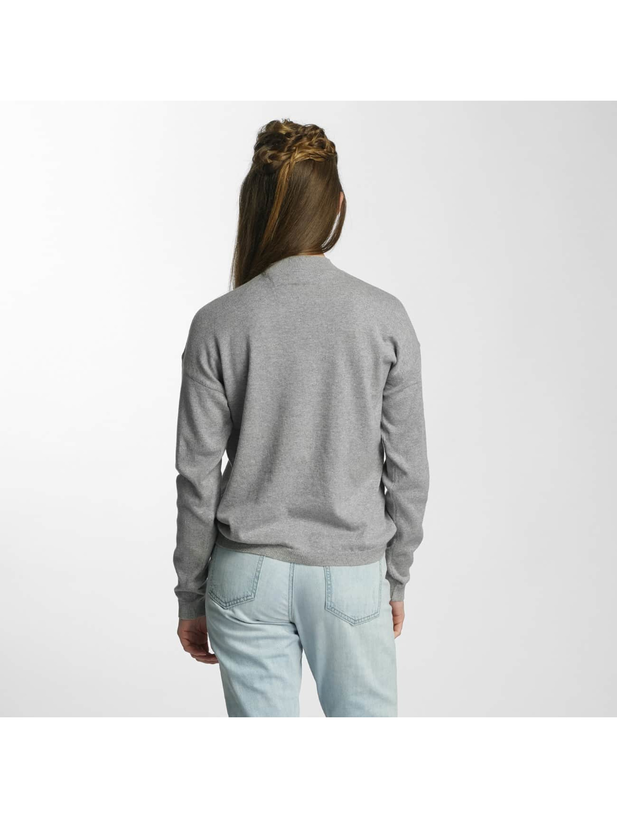Noisy May Pullover nmBound gray