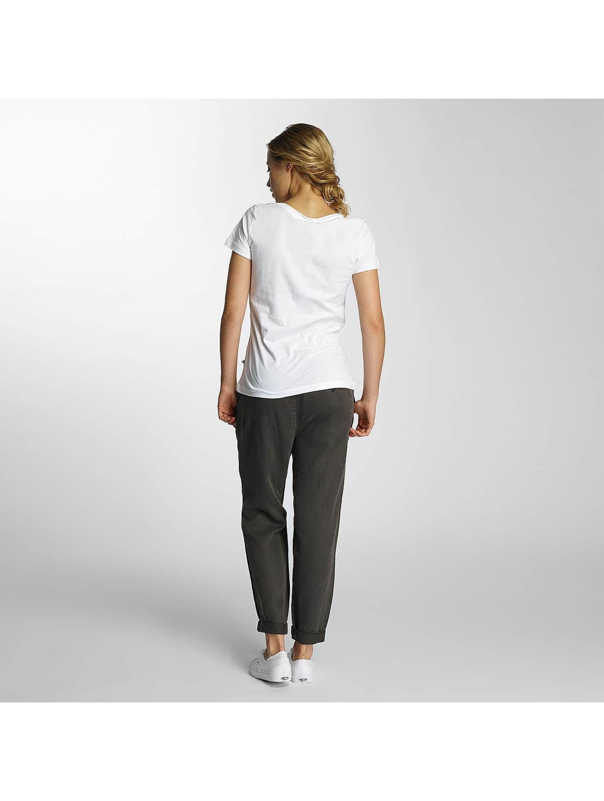 Noisy May T-Shirt nmAxel Printed white
