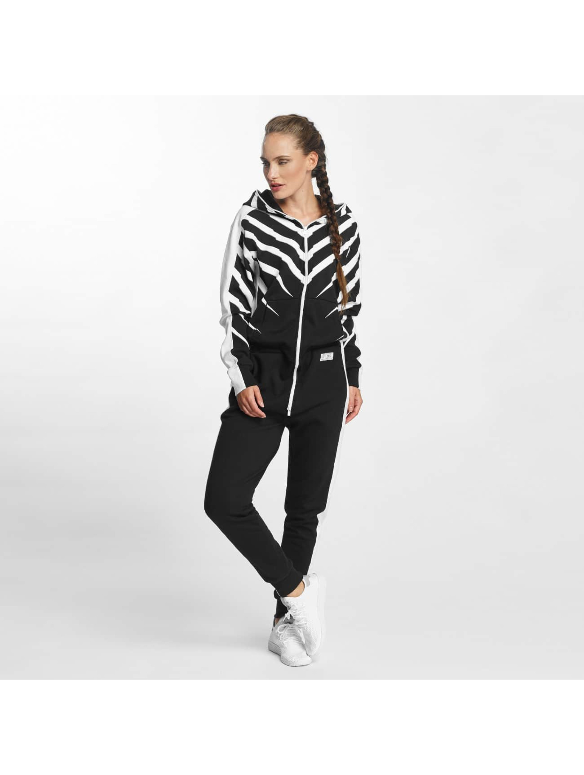 Onepiece Jumpsuits Racer Printed black